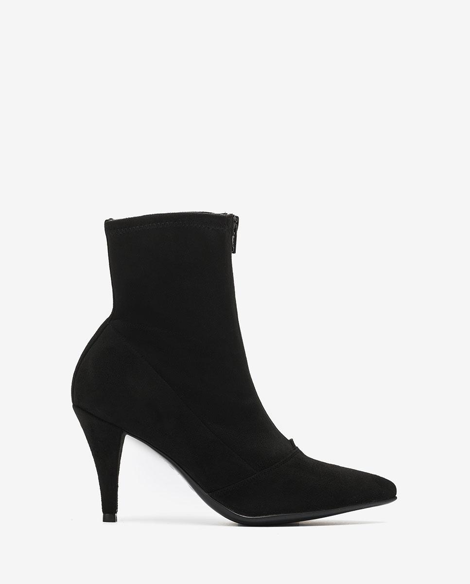 UNISA Black elastic ankle boots TRILLO_STL black 2