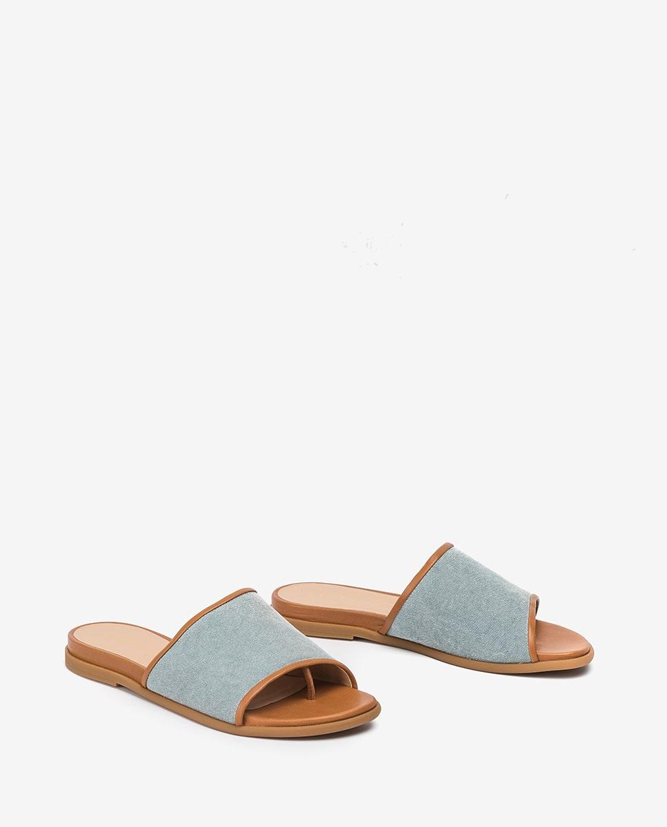 Unisa Toe post sandals CANDI_ECL_NA jeans/bisq