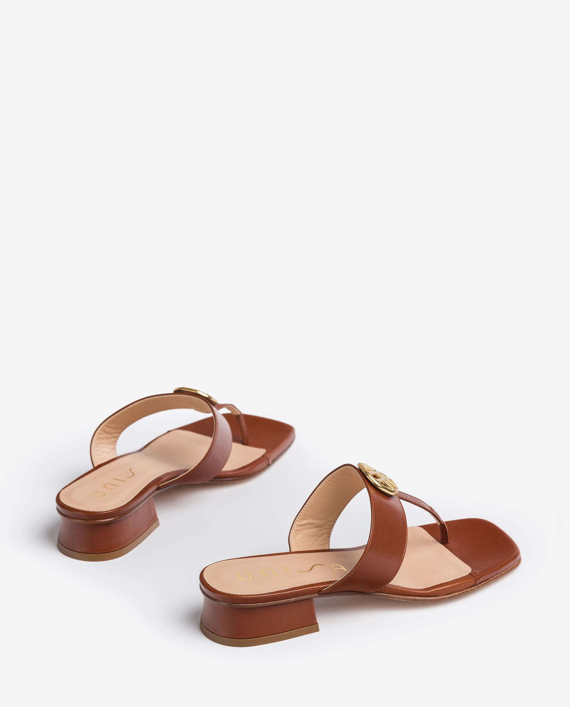 UNISA Thong sandals with monogram DEHESA_VU 2