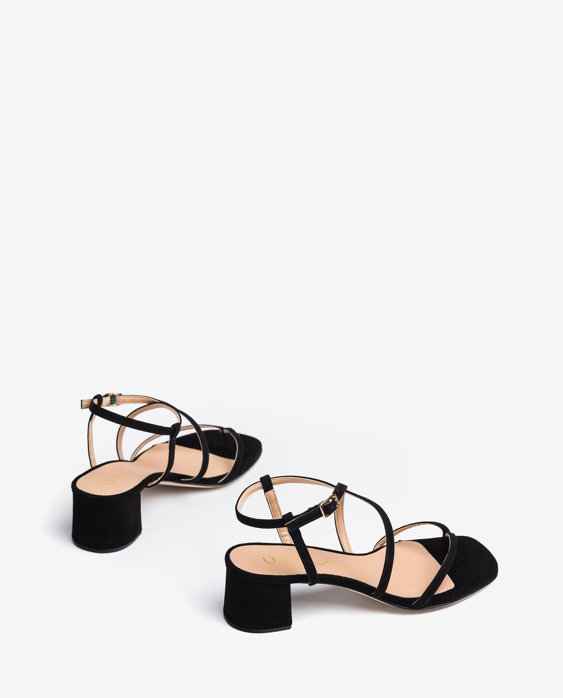 UNISA Kid suede strappy sandals KEKE_21_KS 2