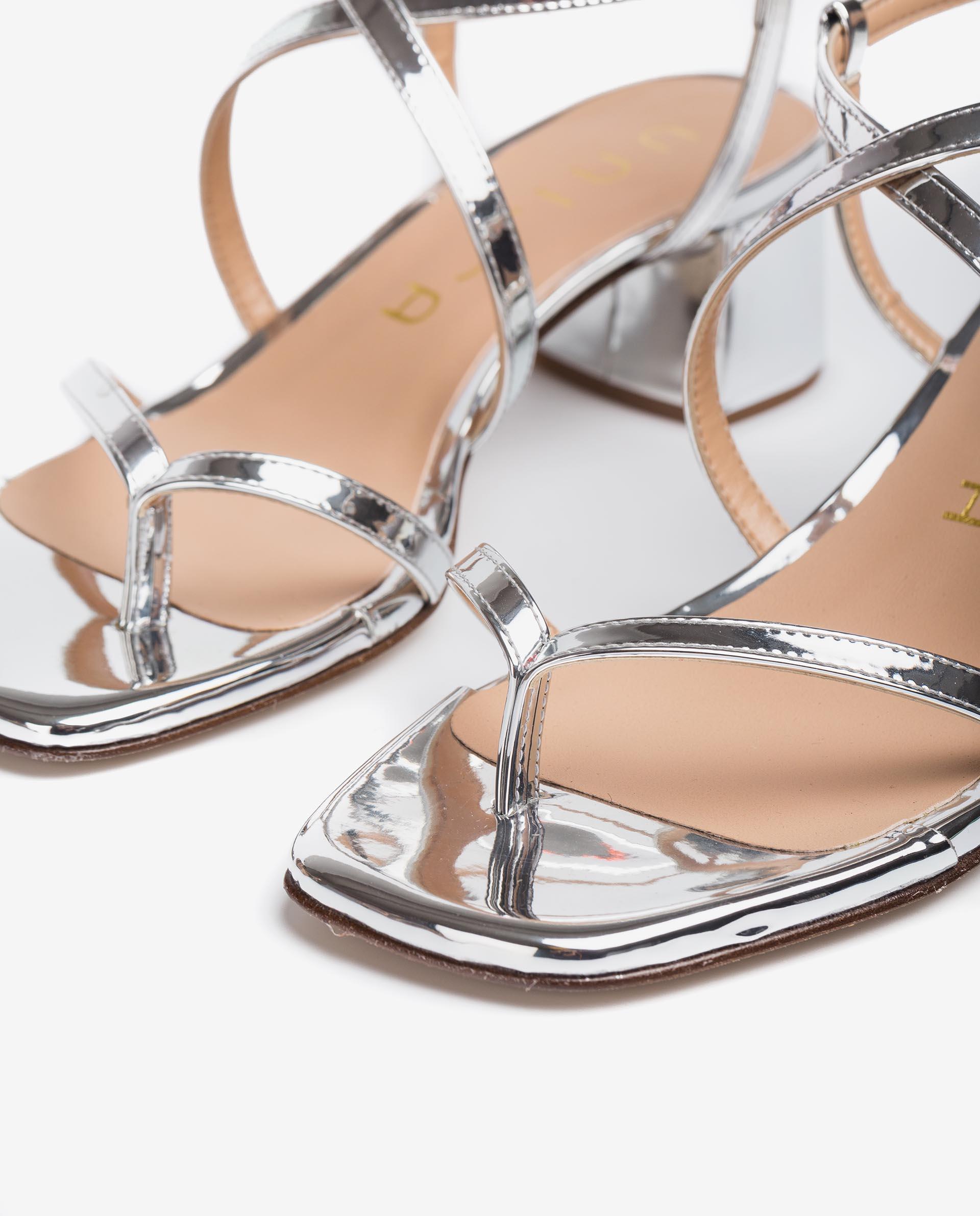 Unisa Toe post sandals KEKE_21_SP silver