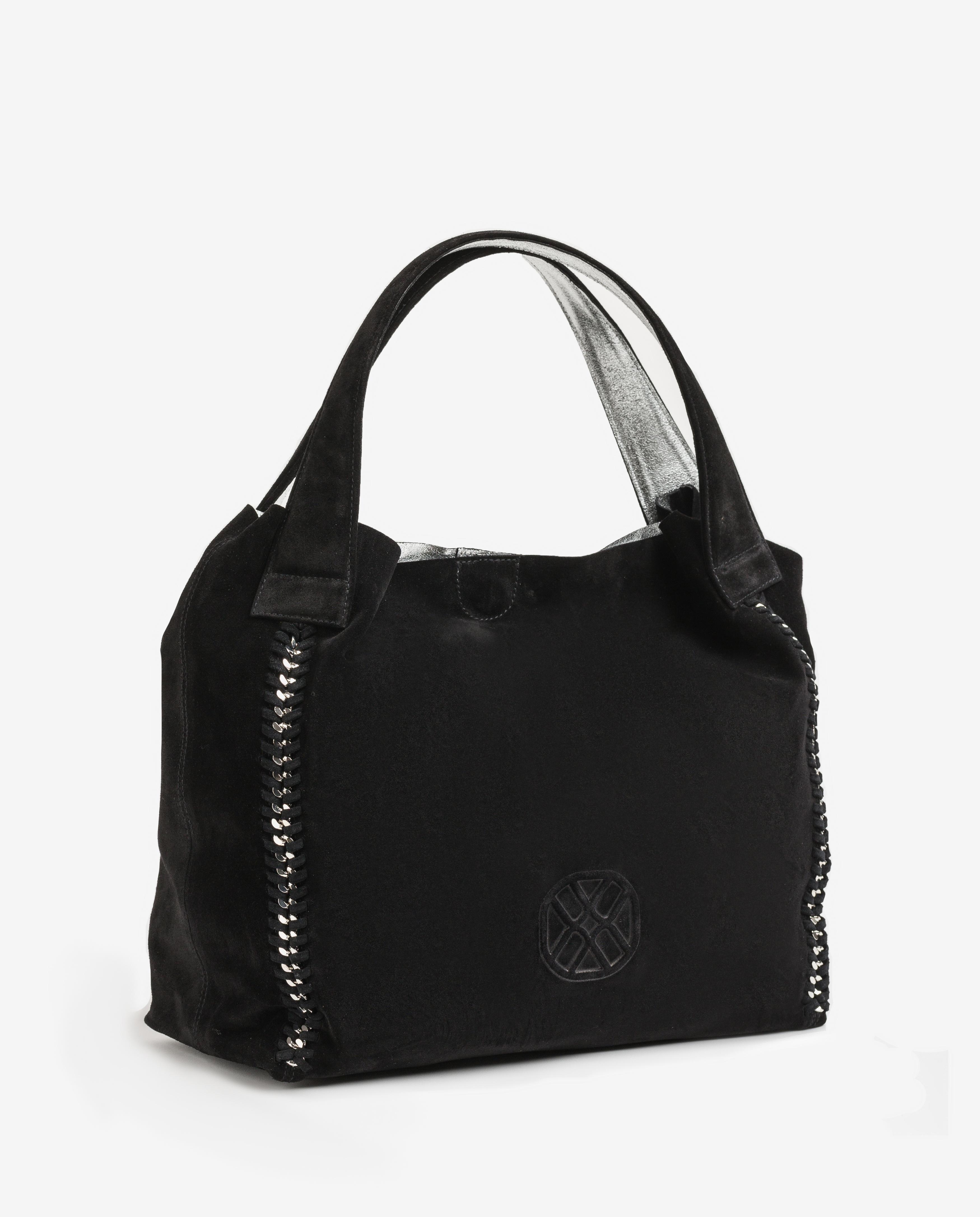 UNISA Monogram tote bag ZSAMBA_BM black 2