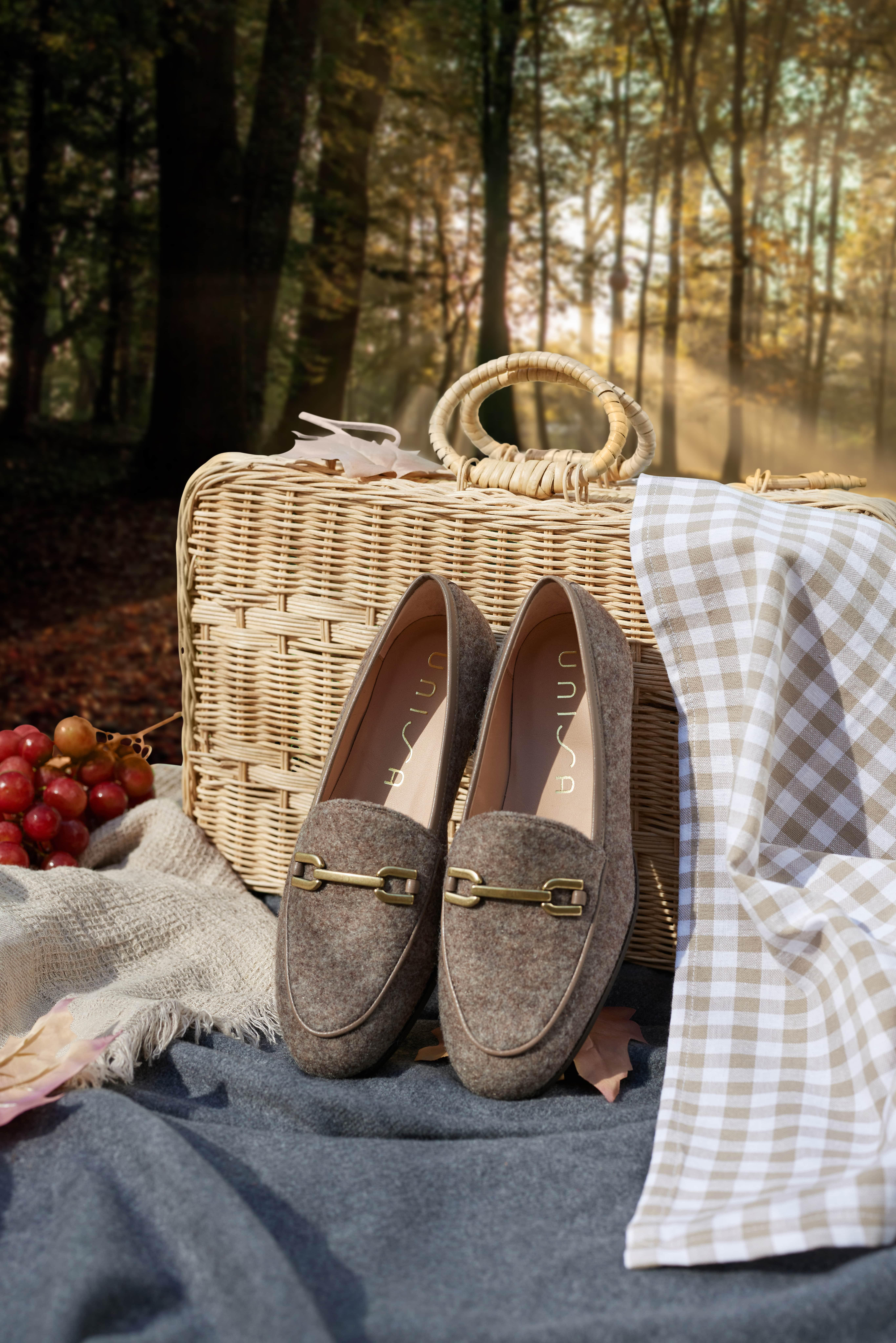 Unisa Loafers DAIMIEL_F21_EW natural