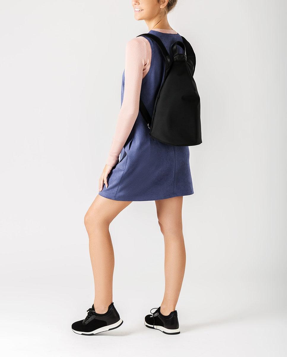 UNISA Backpack with zipper ZMACHU_SUW_NT black 2
