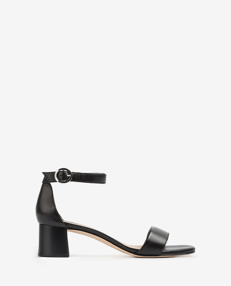 UNISA Black sandals medium heel GELETE_NS black 2