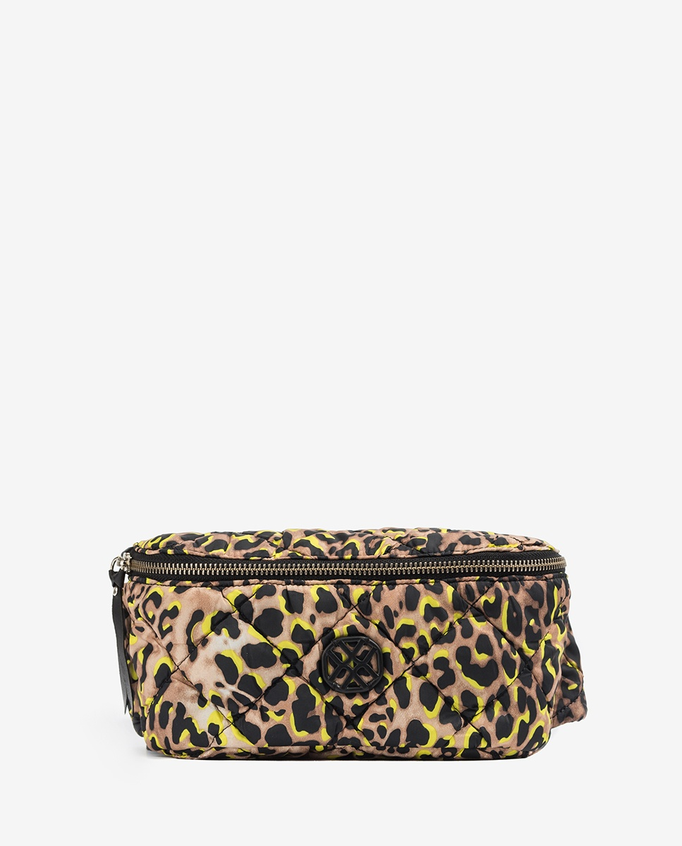 UNISA Fluor fabric waist-pack ZDUOMO_20_ACL lime 2
