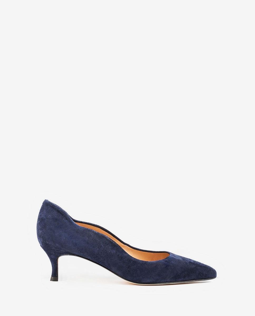 UNISA Navy blue heel pumps IDONE_KS ocean 2