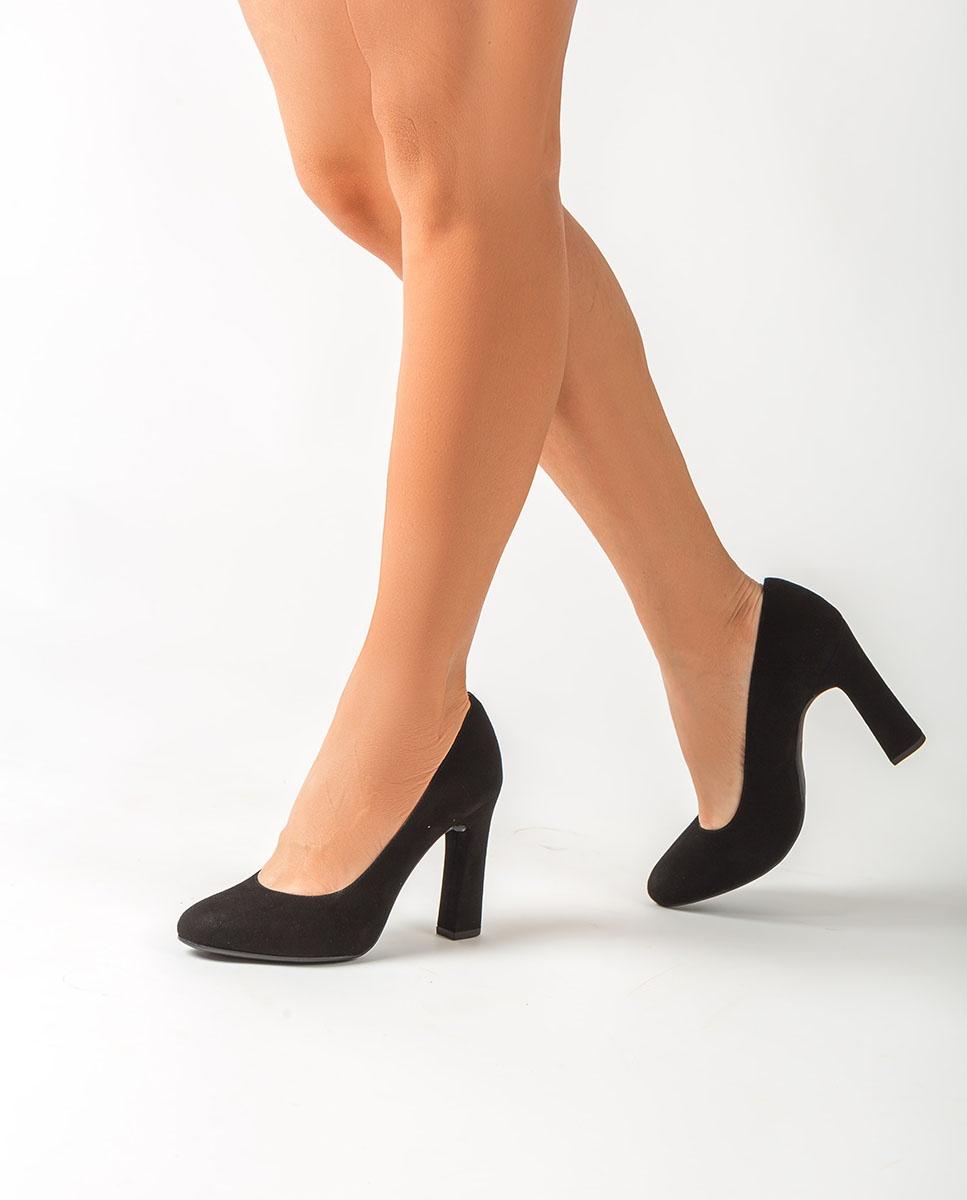UNISA High heel kid suede pumps PATRIC_F20_KS black 2