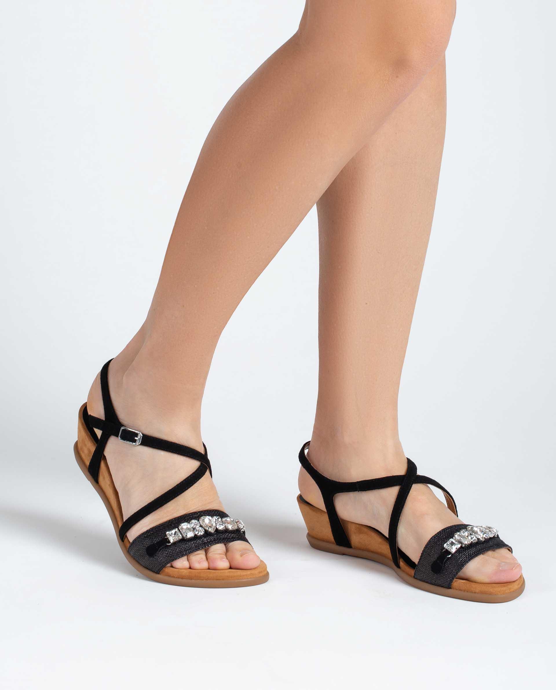Unisa Sandals BAKIO_RN_KS black