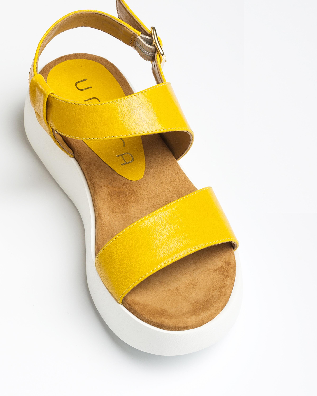 UNISA Yellow sport sandals BIMAX_GCR limone 2
