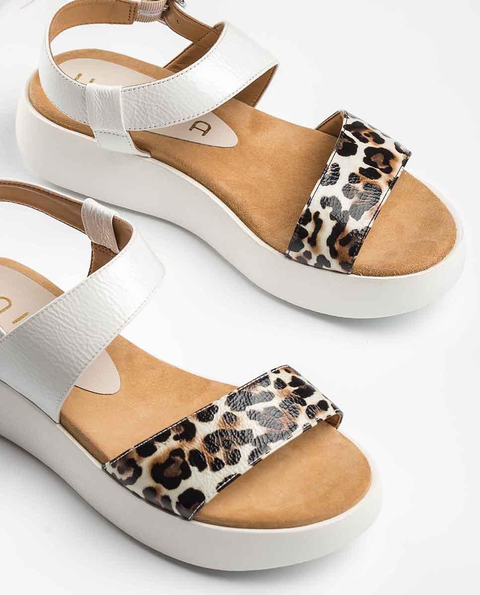 UNISA Contrast sport sandals BIMAX_LP_PAC ivory 2