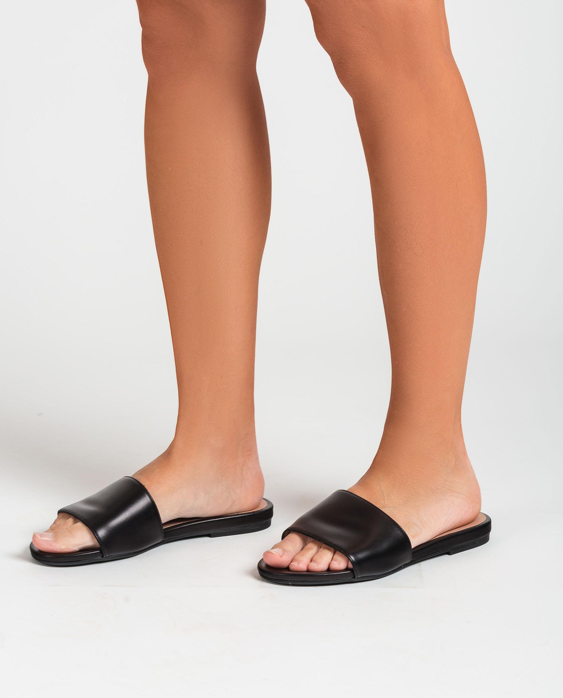 UNISA Flat leather thong sandals CADIARSIN_NA 2