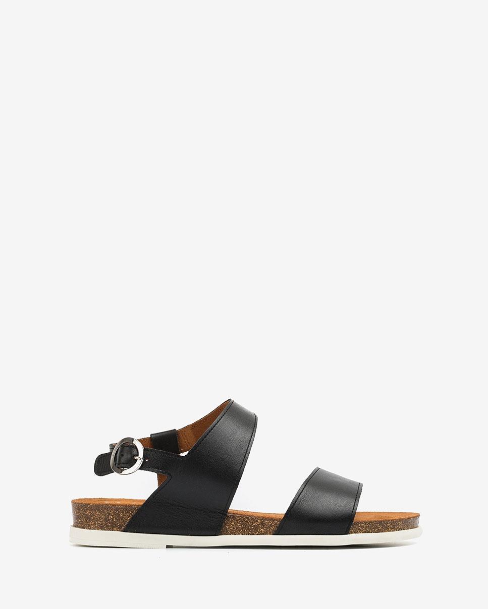 UNISA Leather bio sandals CANOVAS_NF black 2