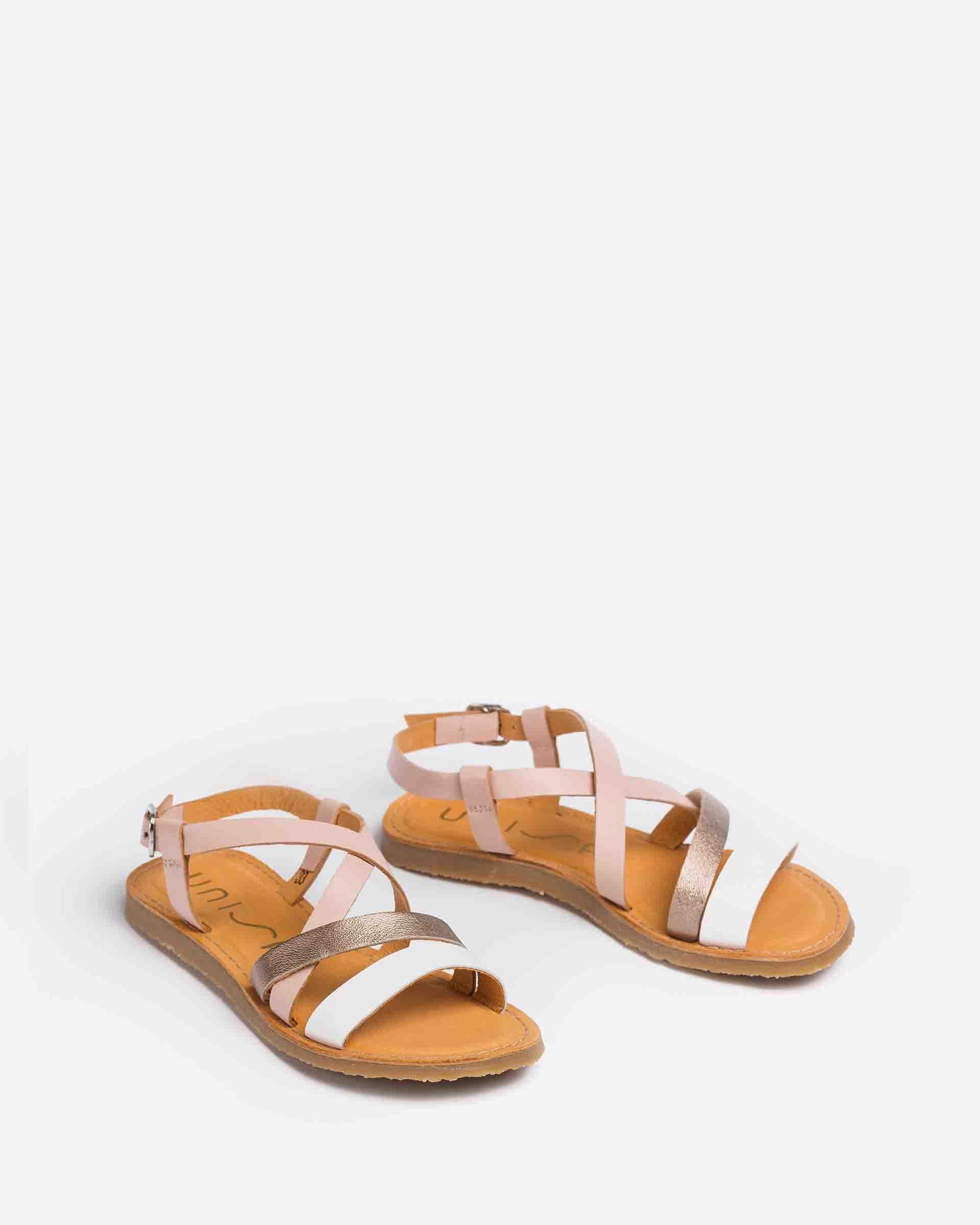 UNISA Little girl´s strappy contrast sandals GALUPA_VA_LMT 2
