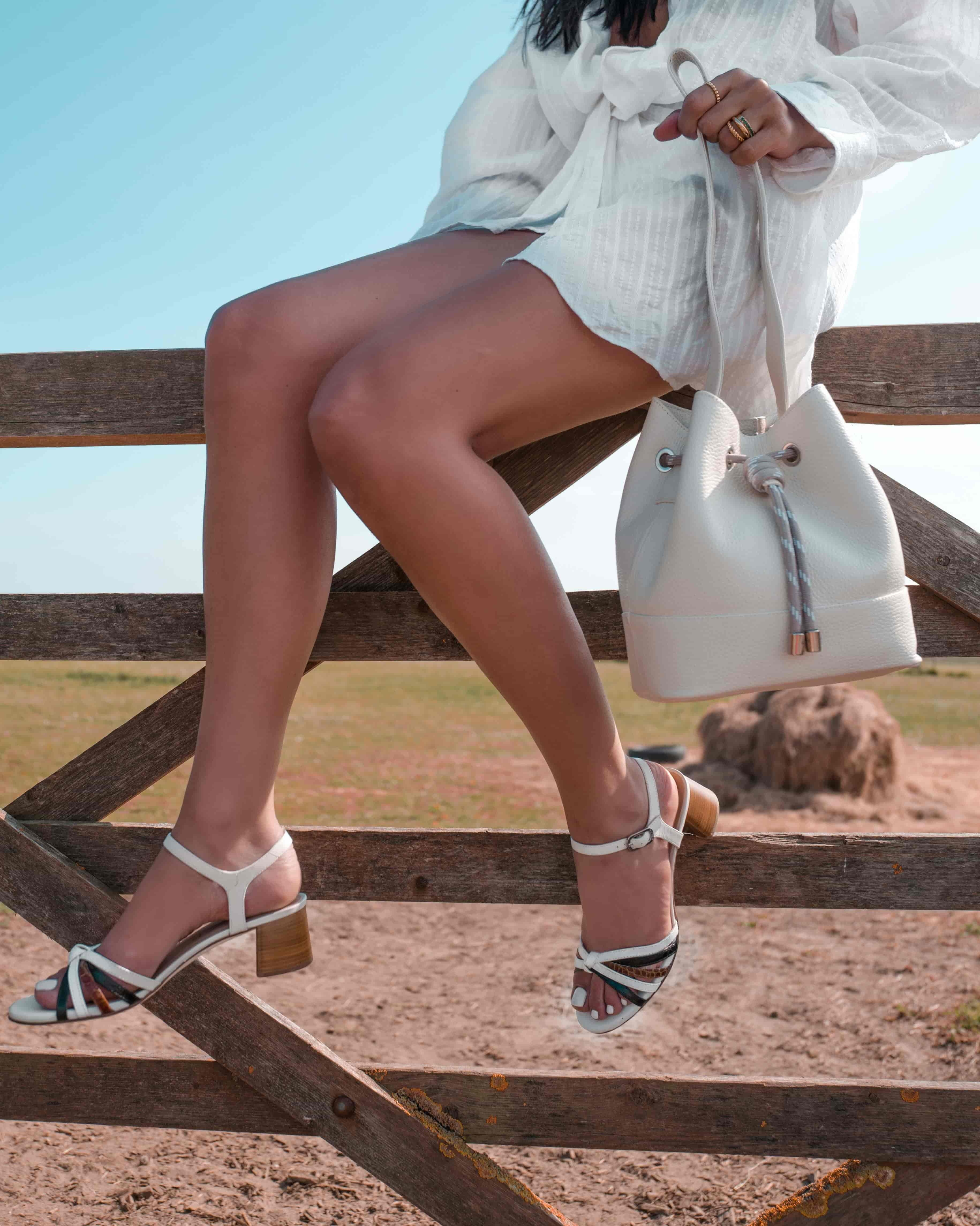 Unisa Sandals GRATA_CRW_KS blk/ivo/sa