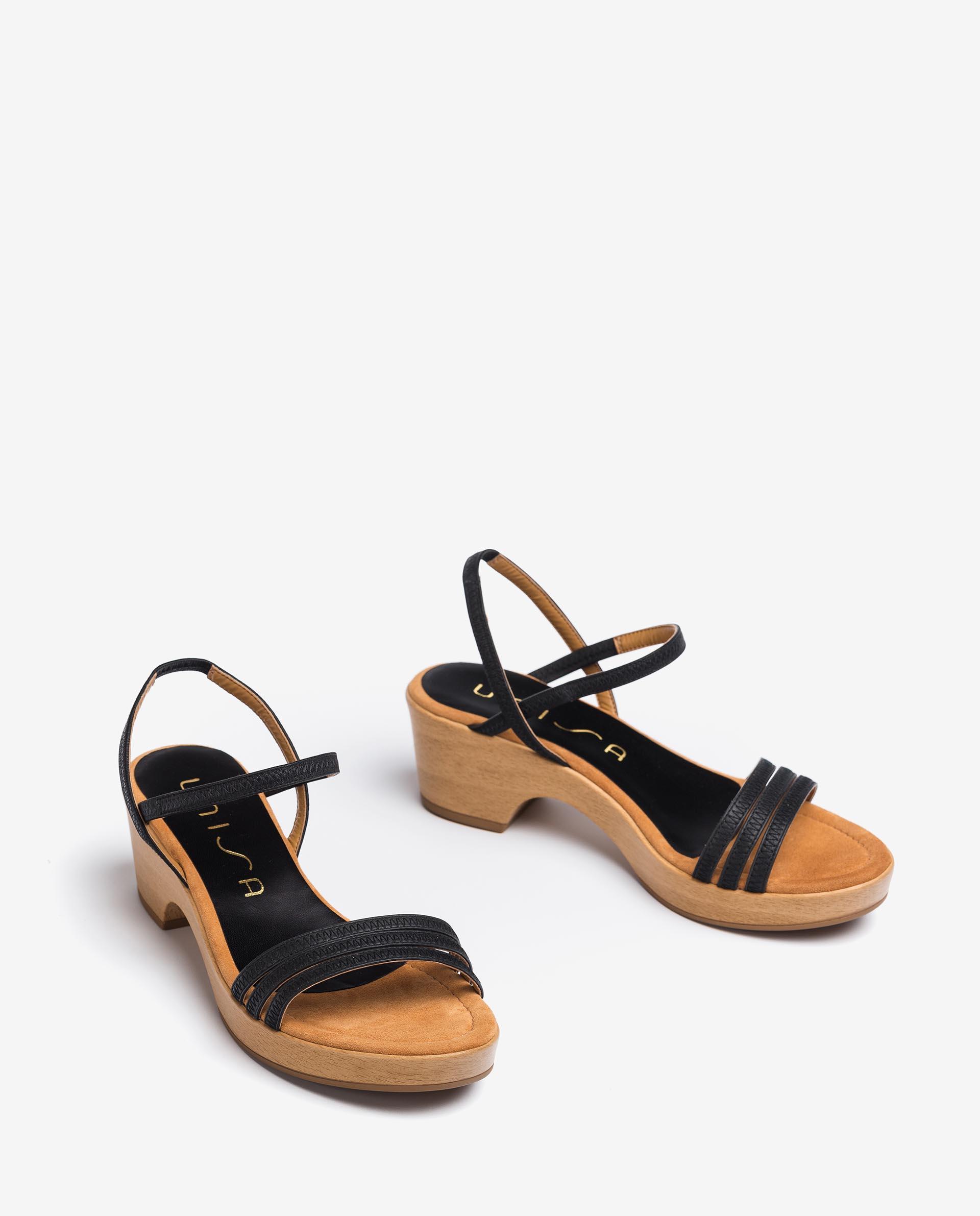 Unisa Sandals IBRILLO_NS black