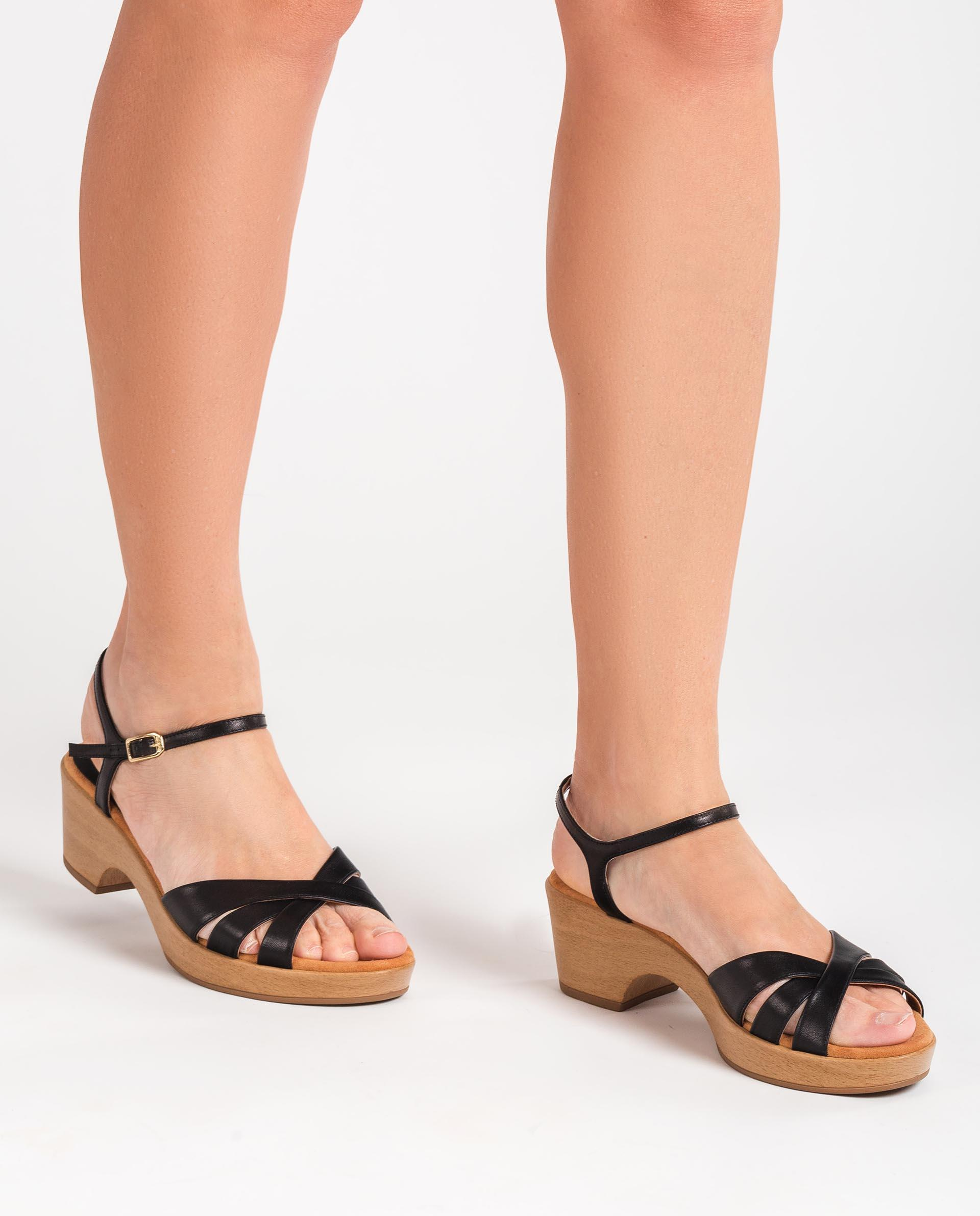 UNISA Leather strappy sandals INQUI_NA 2