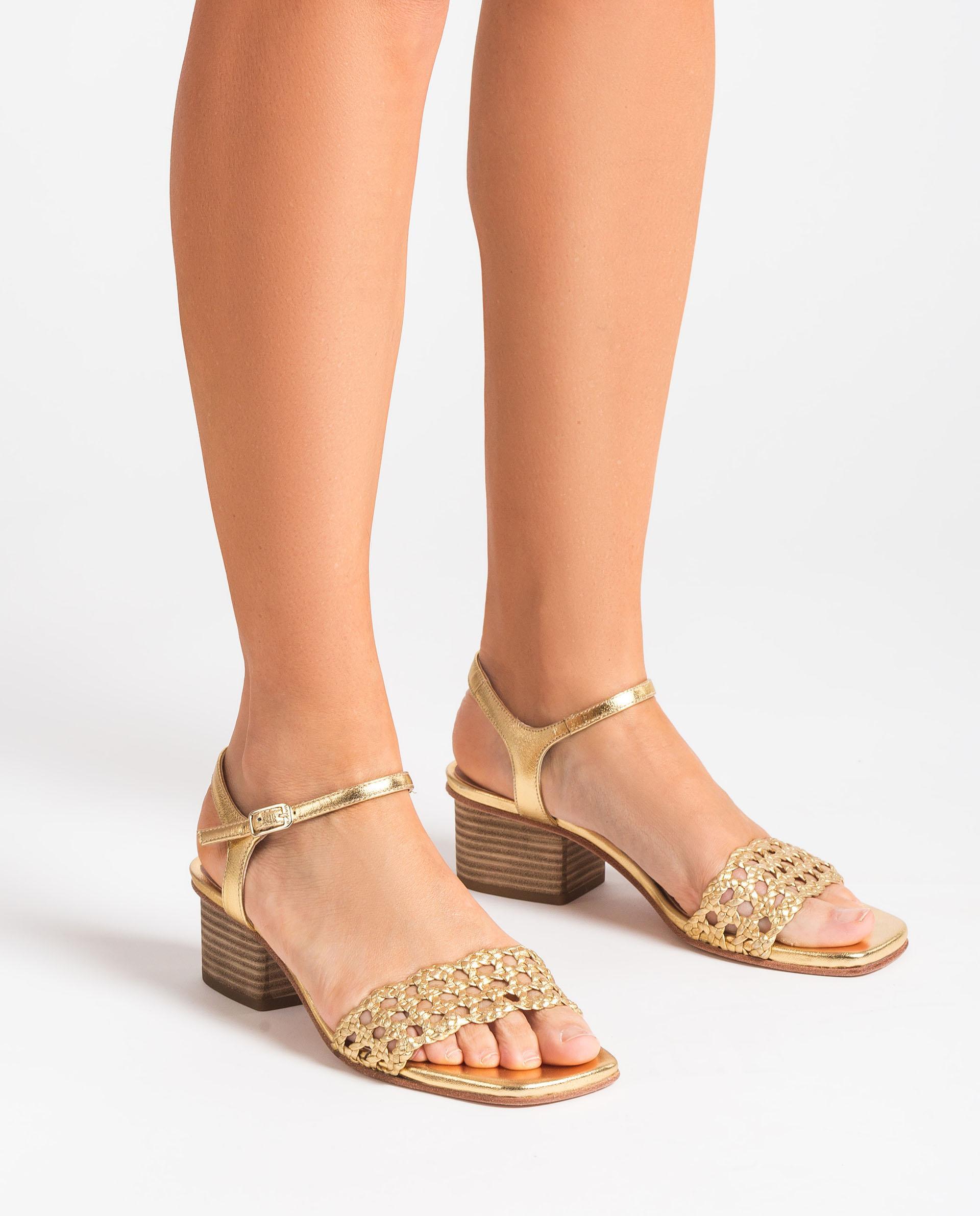 UNISA Braided macramé sandals KEMPIS_LMT 2