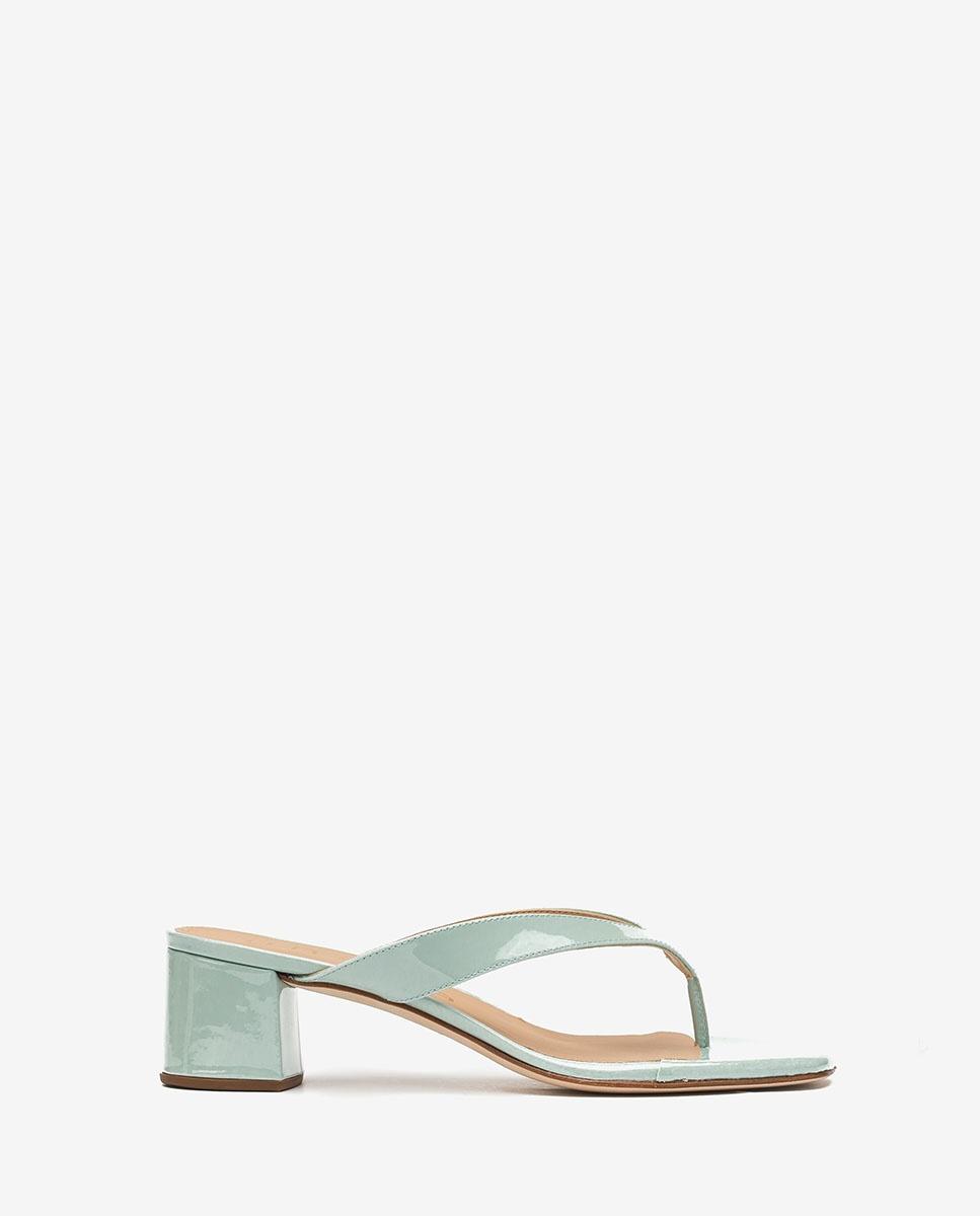 UNISA Patent leather thong sandals KOLMA_PA caribbean 2