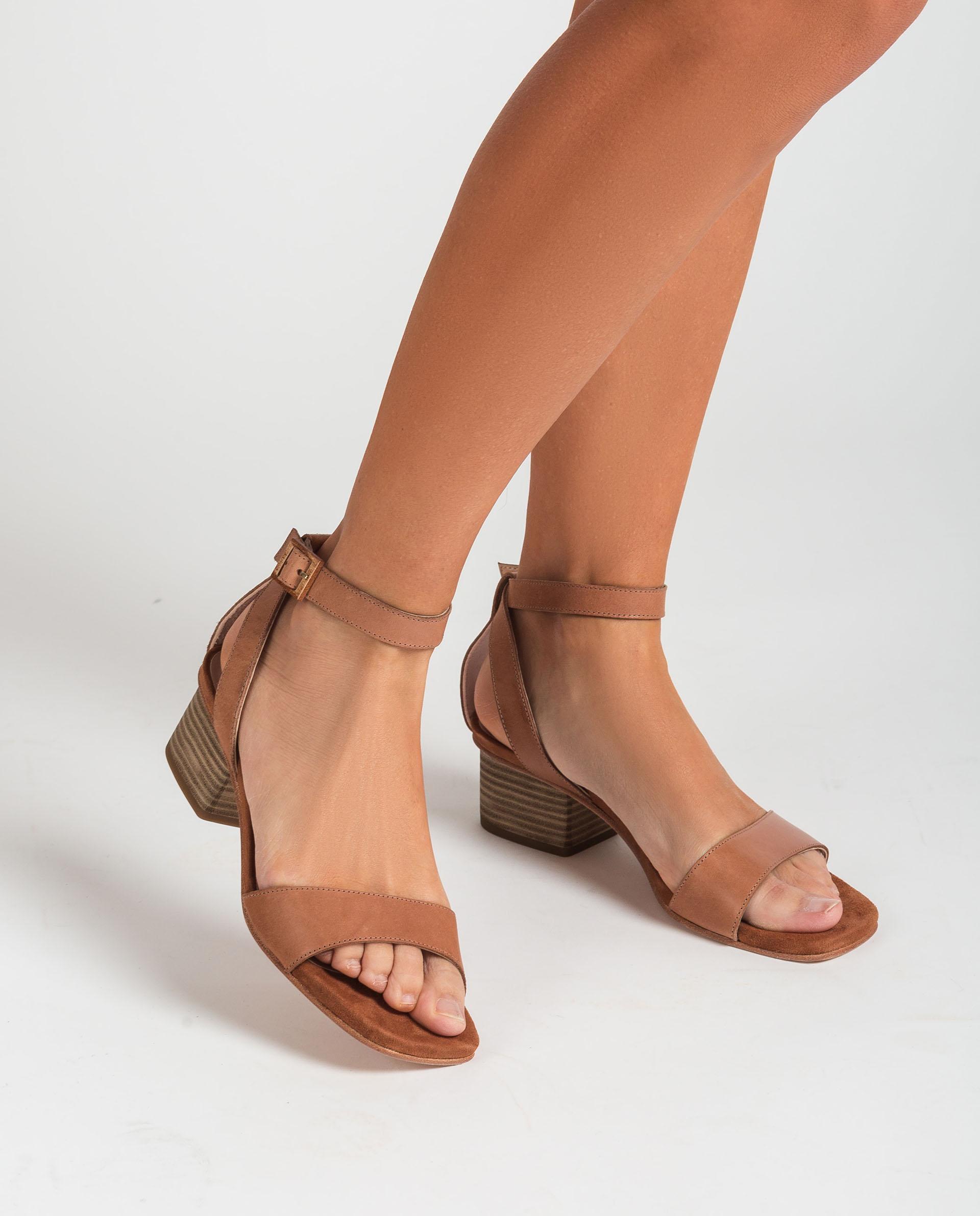 UNISA Wide heel sandals KRUCES_RAN 2