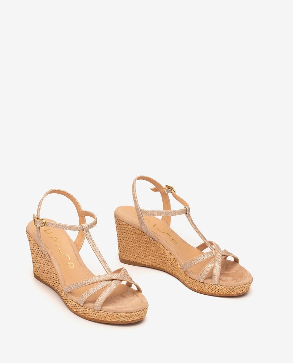 Unisa Sandals LLINAR_EV_KS platin/nud