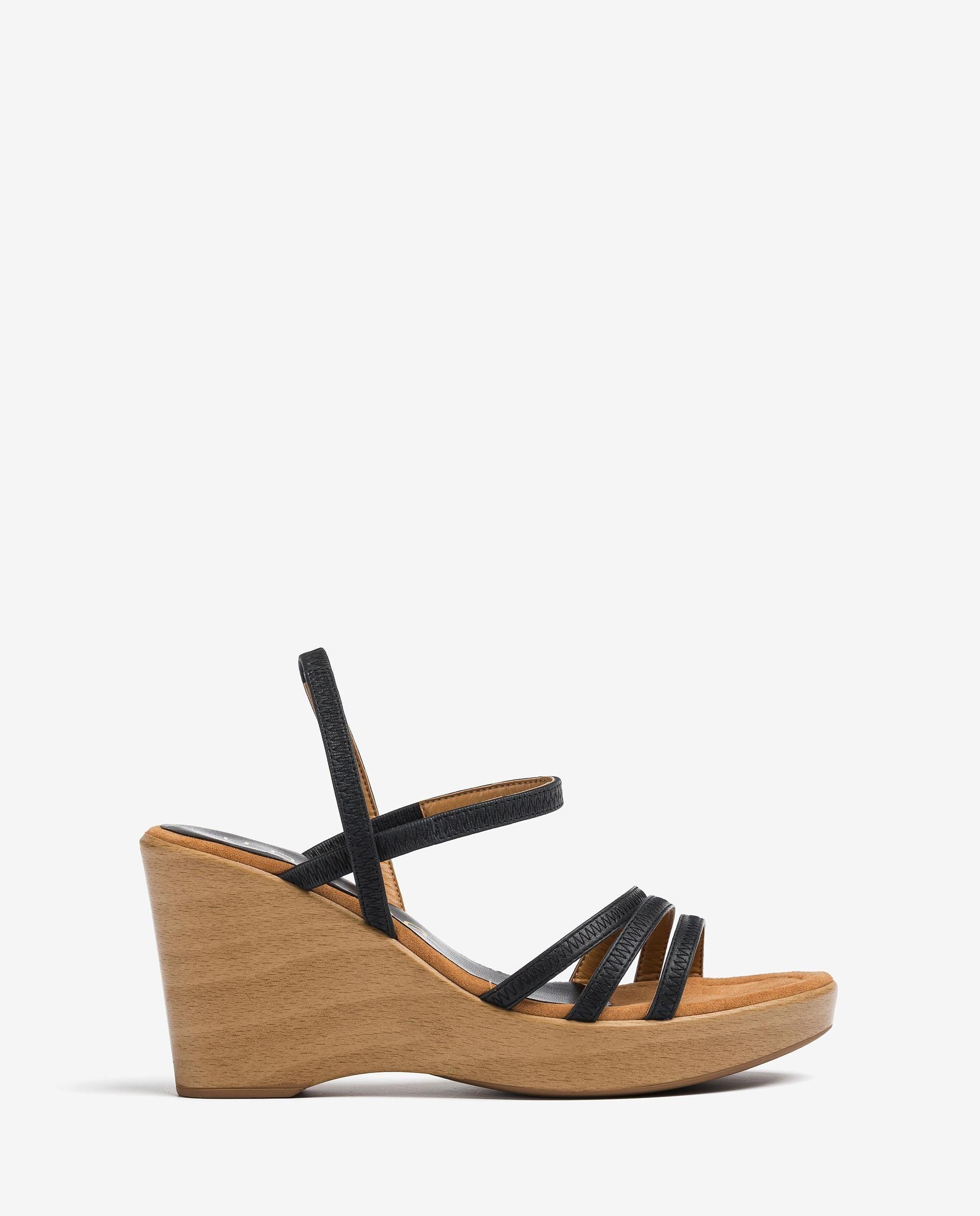 UNISA Multi-strap leather sandals RENERA_NS 2