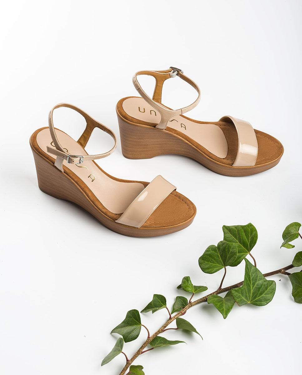 UNISA Nude colour sandals RITA_20_PA nude 2