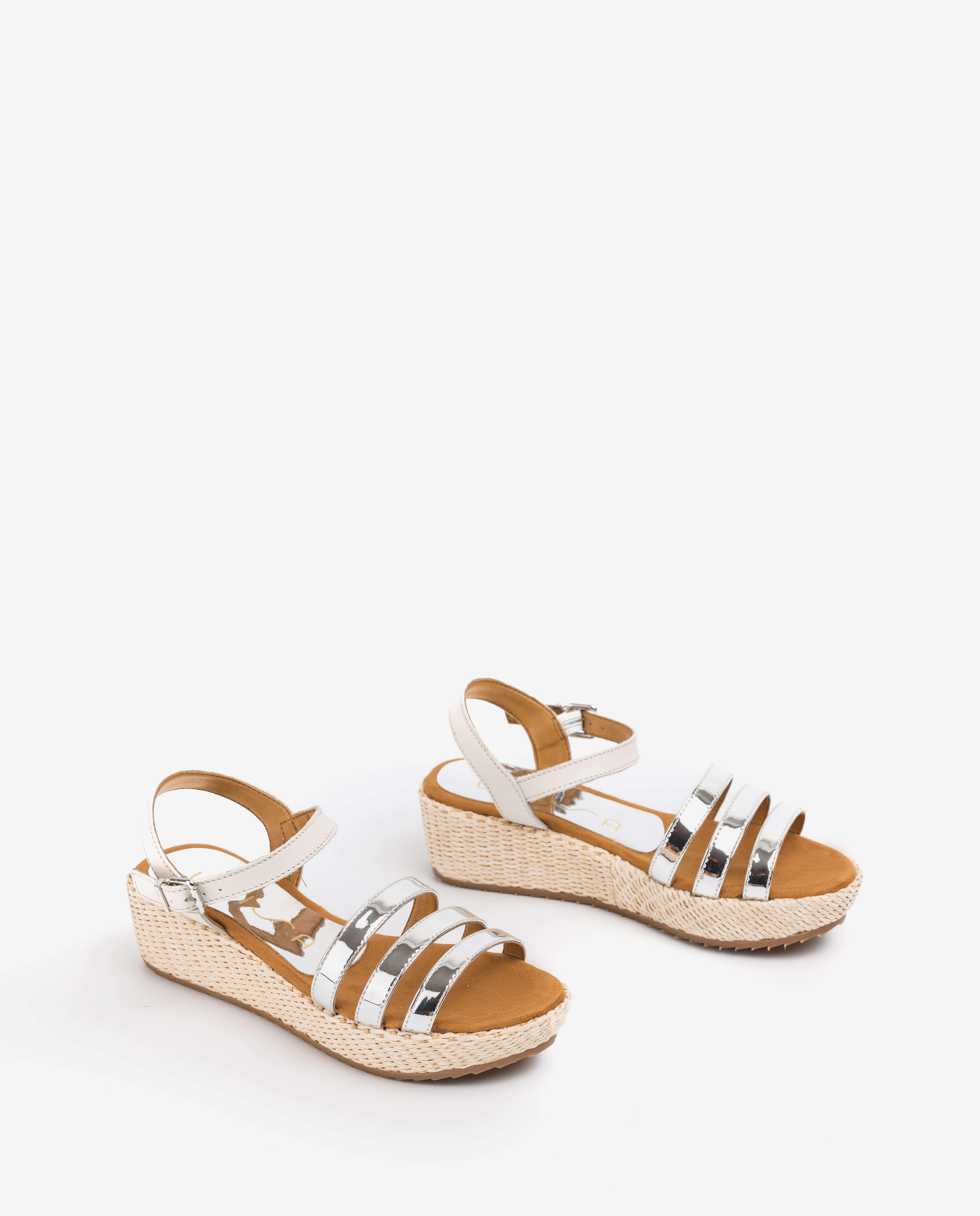 UNISA Little girl contrast wedge sandals TALENT_R_SP_NF silver 2