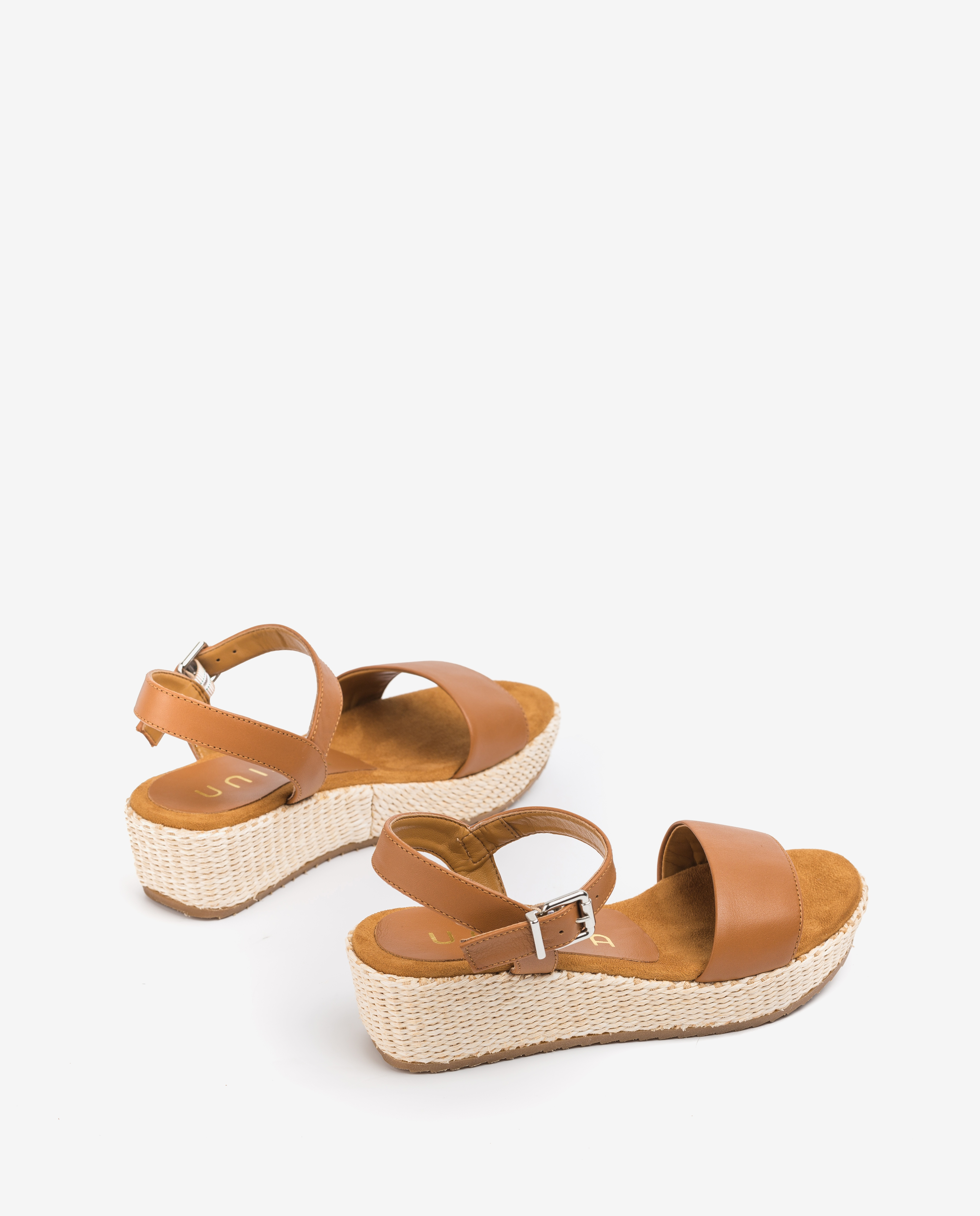 UNISA Little girl leather wedge sandals TERETE_20_R_NT bisquit 2