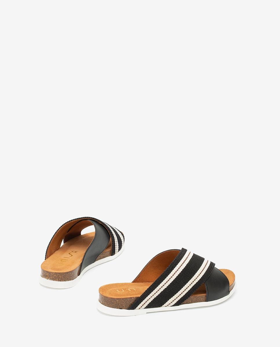 UNISA Ribbon contrast sandals CHIVAS_NF  black 2