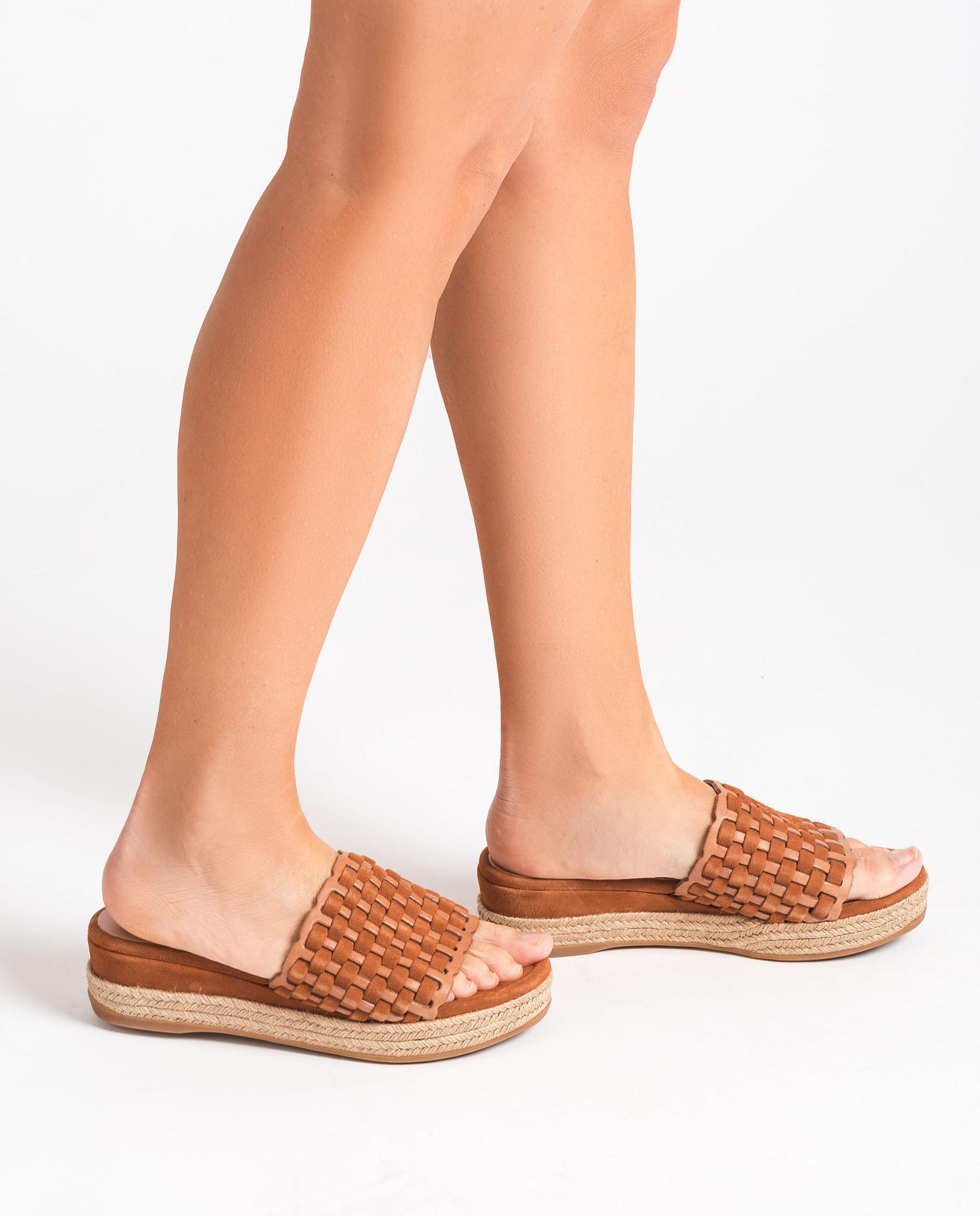 UNISA Leather and kid suede mules GALEGO_RAN_KS 2