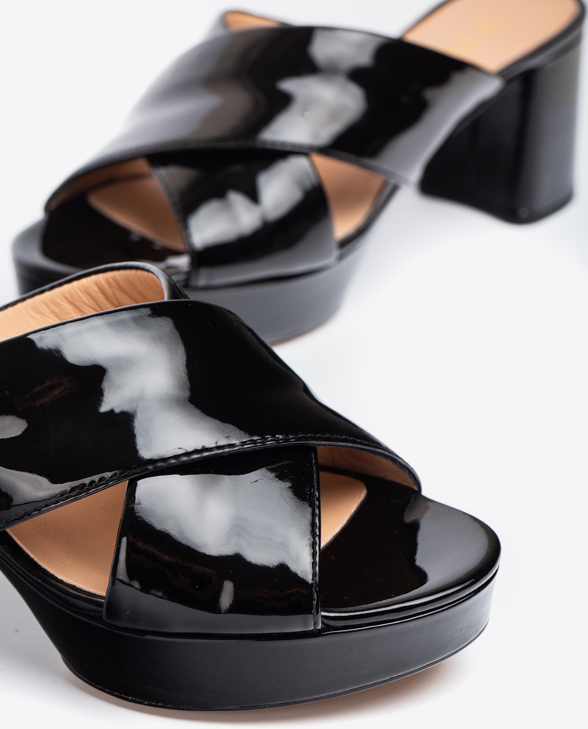 UNISA Patent leather mules NALINI_PA 2