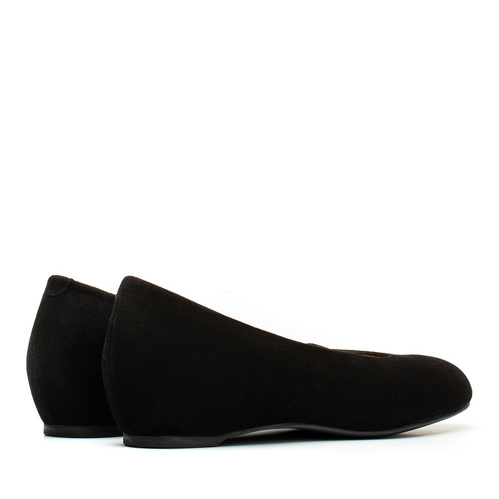 UNISA High top line wedge ballerina CONESA_KS black 2