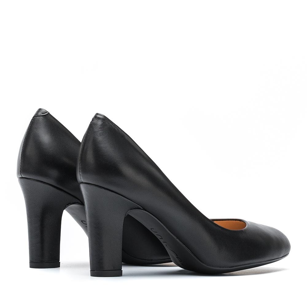 UNISA Leather pumps UMIS_F19_NA black 2