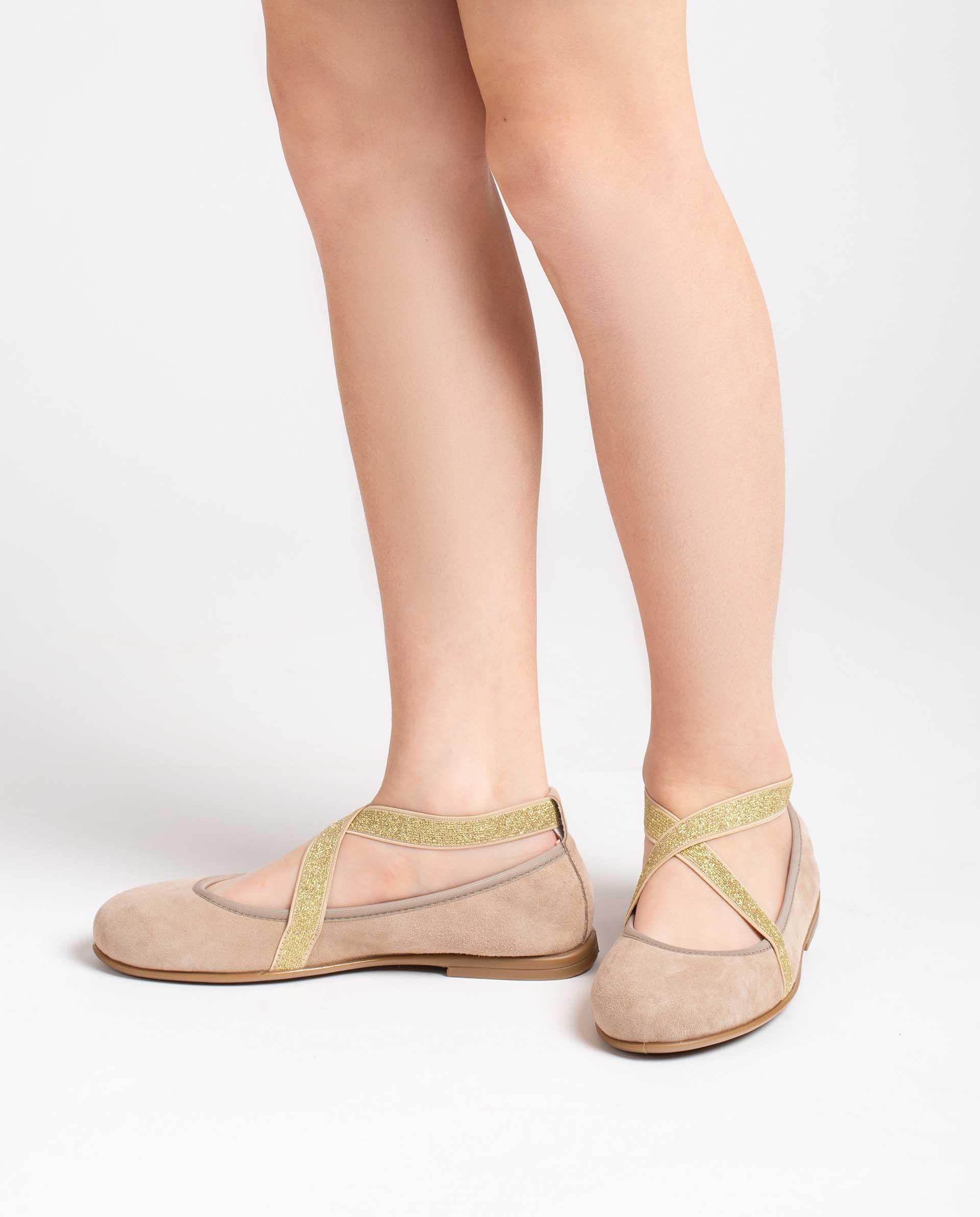 Unisa Ballerinas SILVIO_21_KS beige