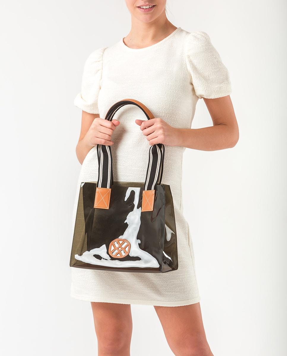 UNISA Monogram vynil handbag ZOIL_CAN_VIN humo 2