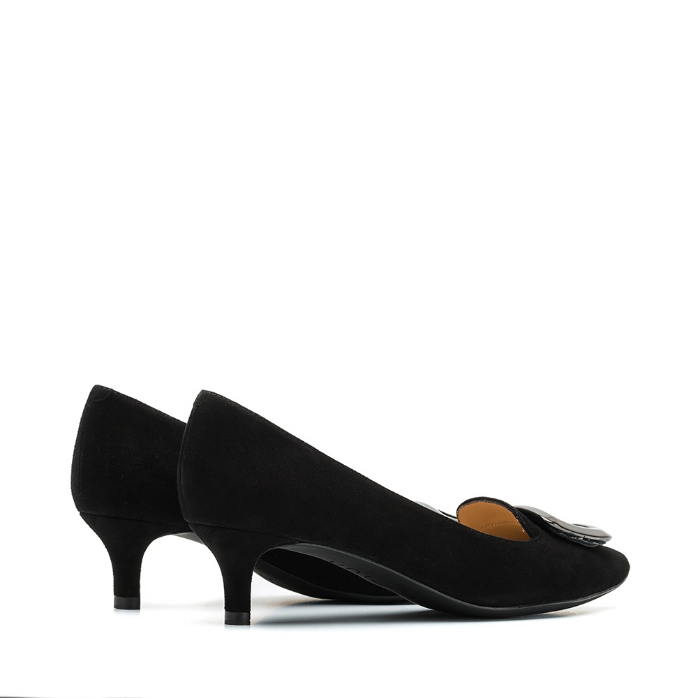 UNISA Low heel pump with buckle JAIDEN_KS black 2