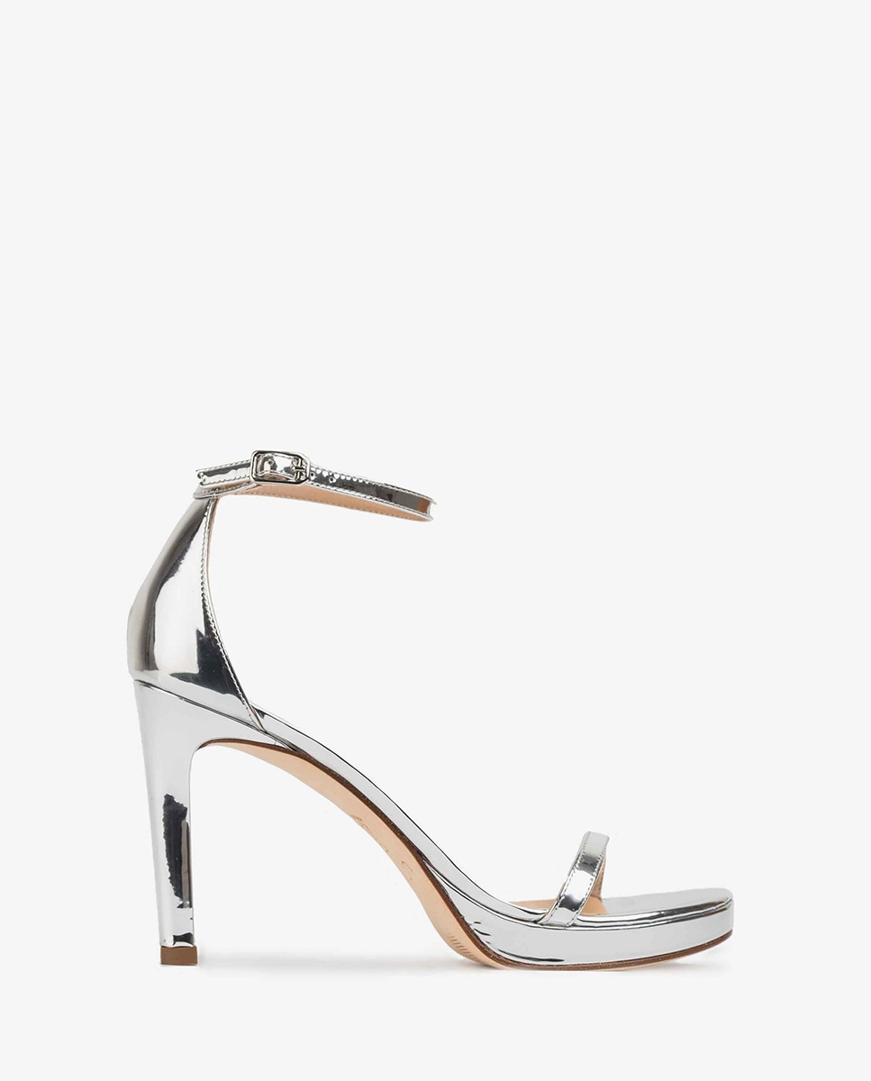 UNISA Silver sandals ankle strap VERONIC_SP silver 2
