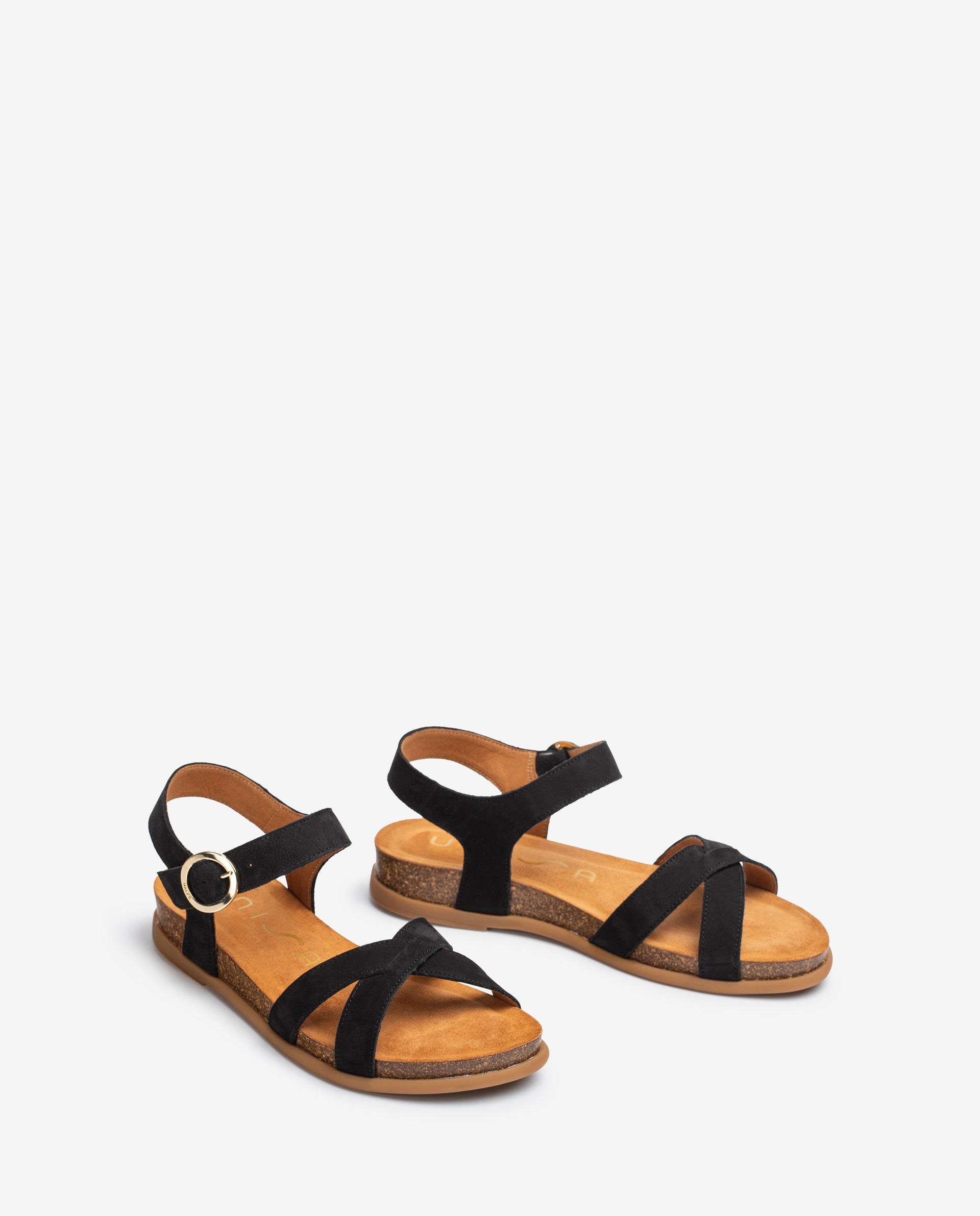 Unisa Sandals CINCEL_BLU black