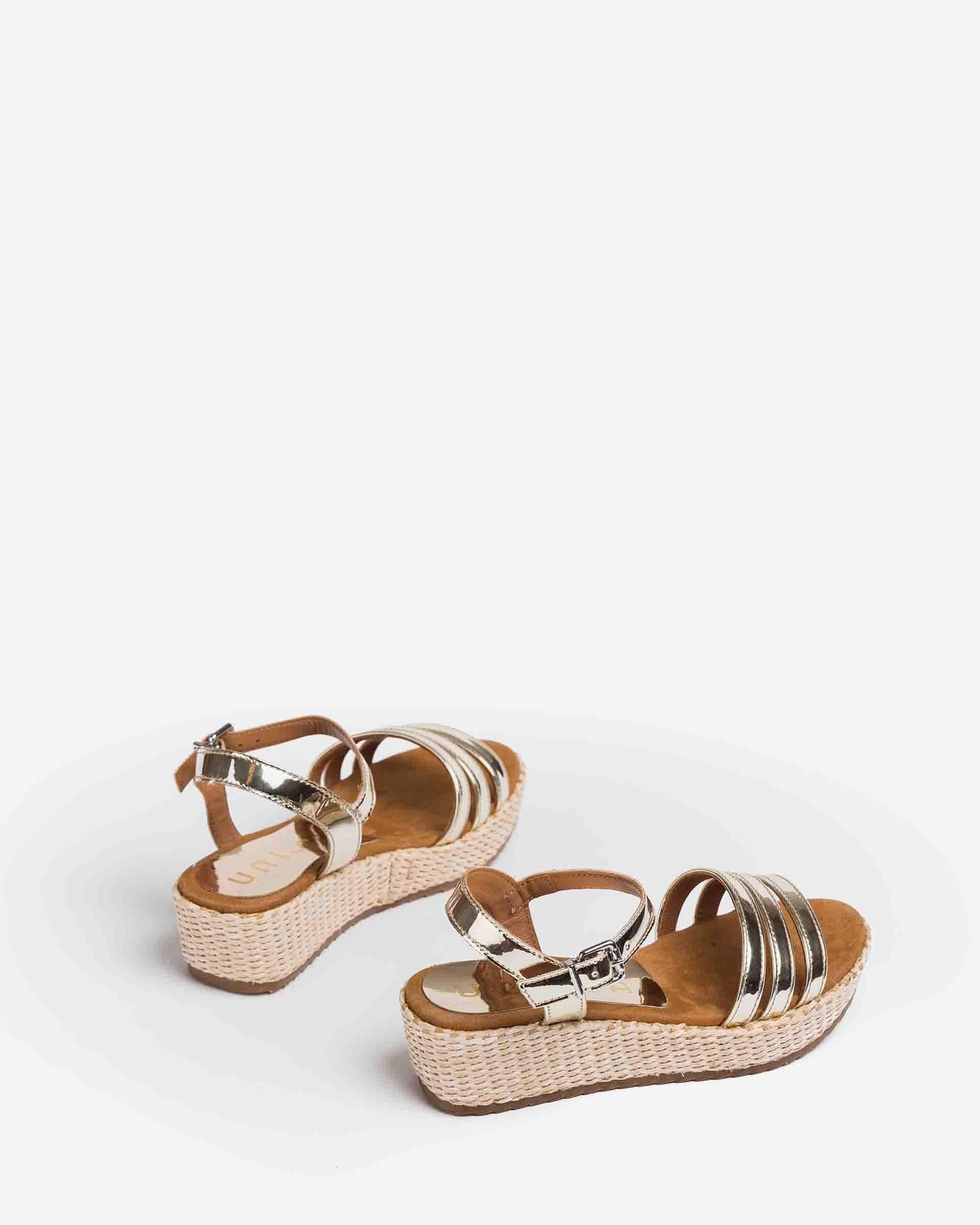 UNISA Mirror effect sandals for little girls TALENT_R_21_SP 2