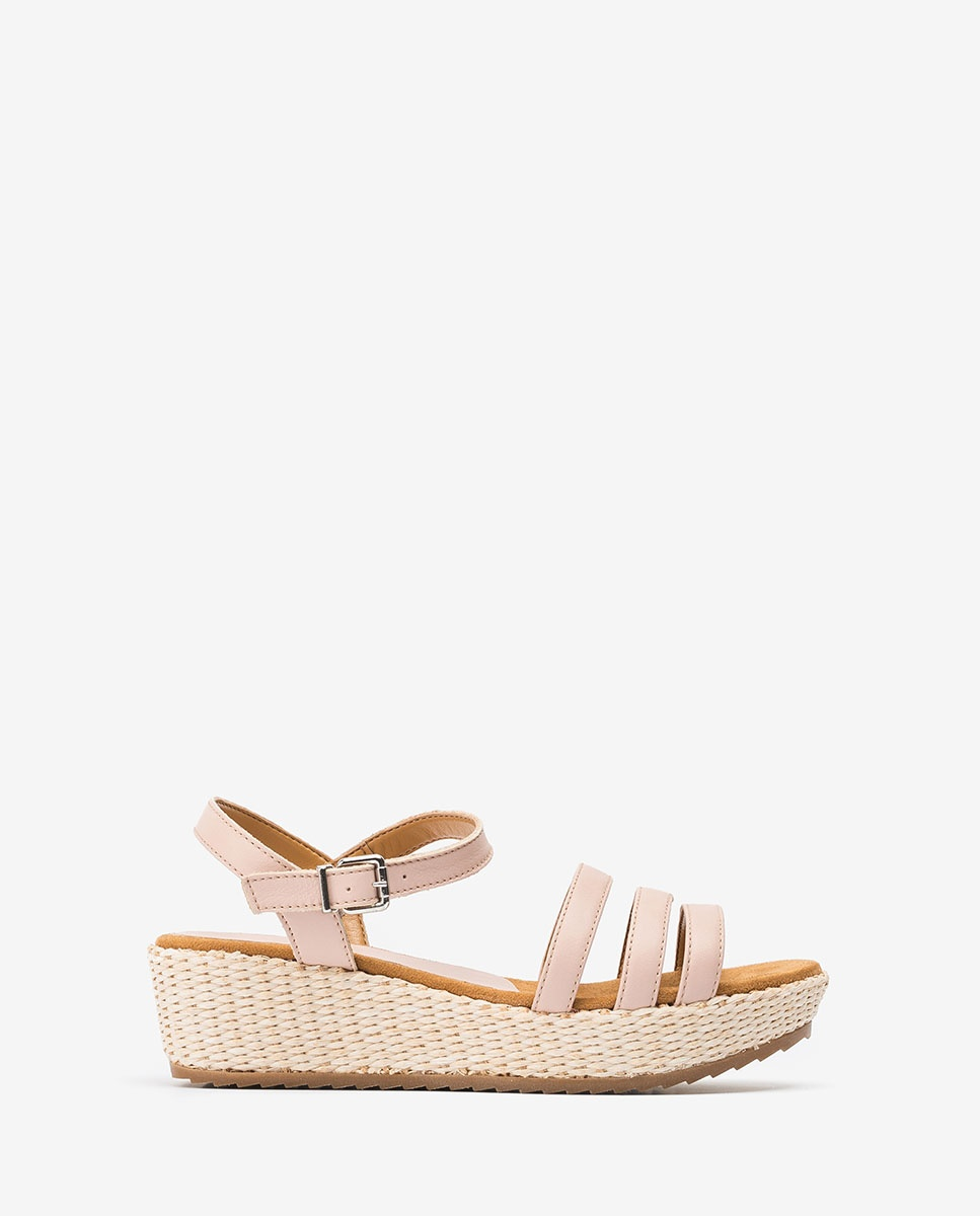 UNISA Little girl wedge pink sandals TALENT_R_NT pale 2
