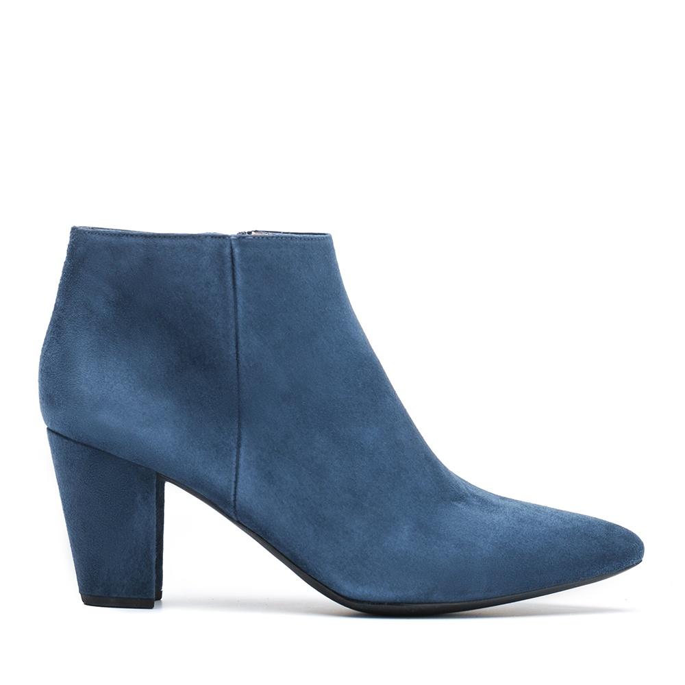 UNISA Abotinado de ante azul KISNER_KS dark jeans