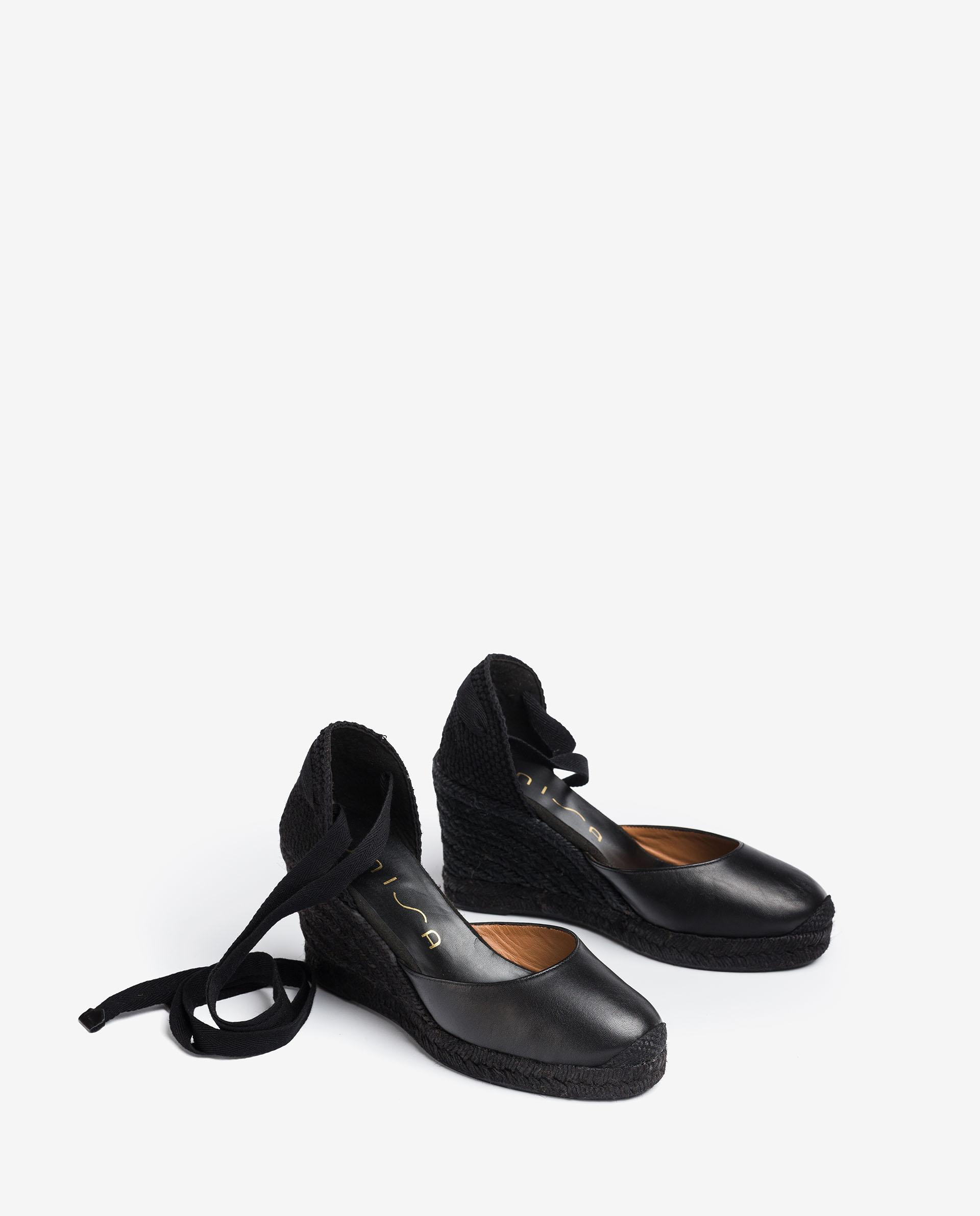 UNISA Leather espadrilles CARNOT_NA 2