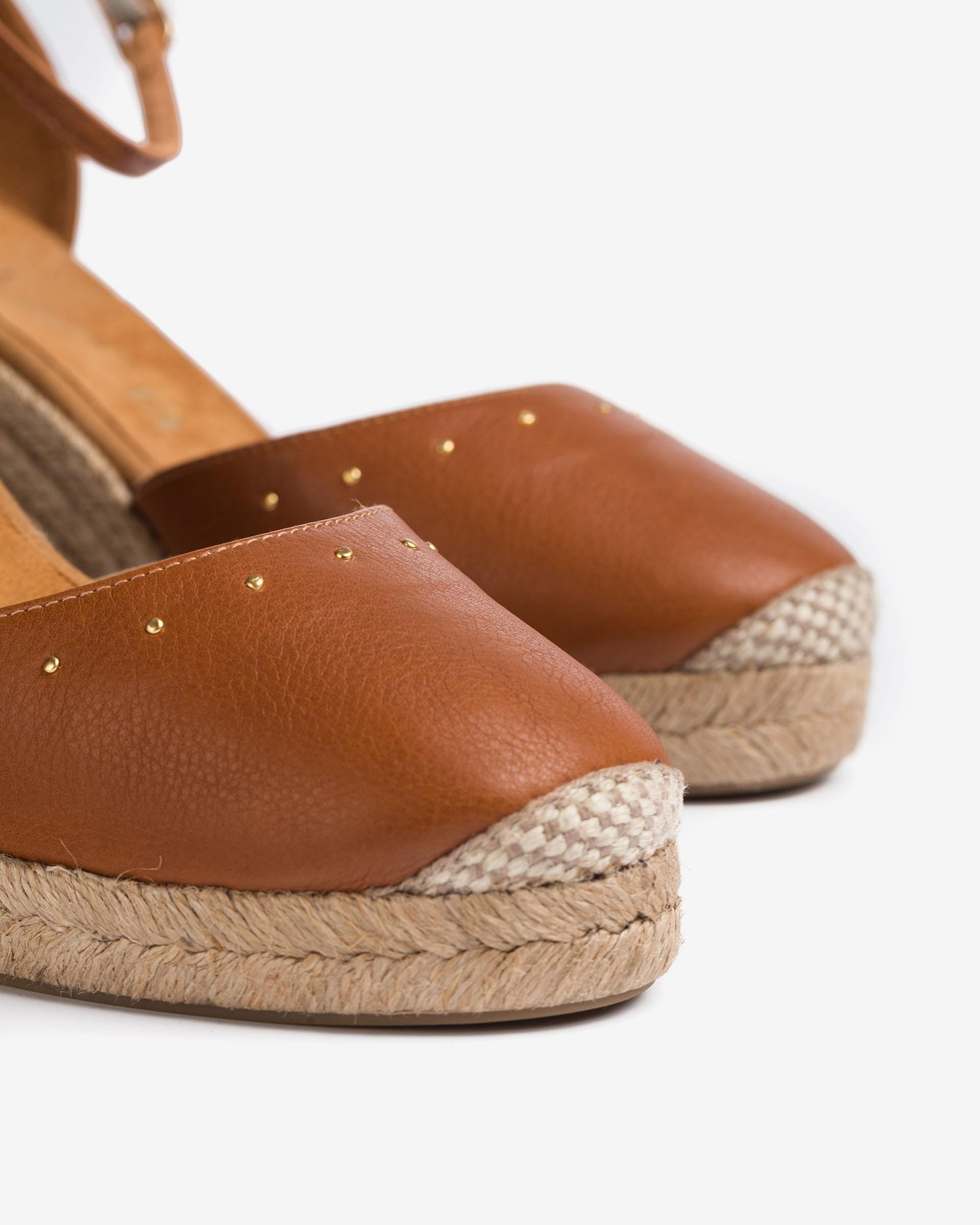 UNISA Leather D´Orsay espadrilles COSME_CRE 2