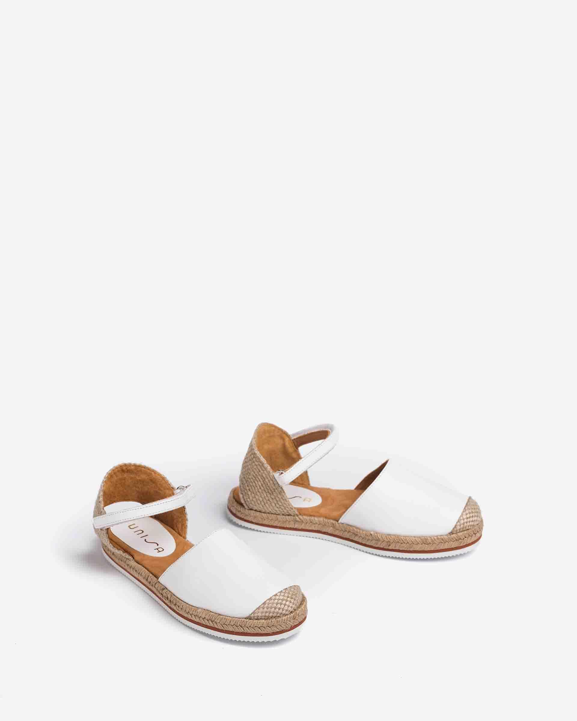 UNISA Little girl´s leather espadrilles YADIRA_21_NT 2