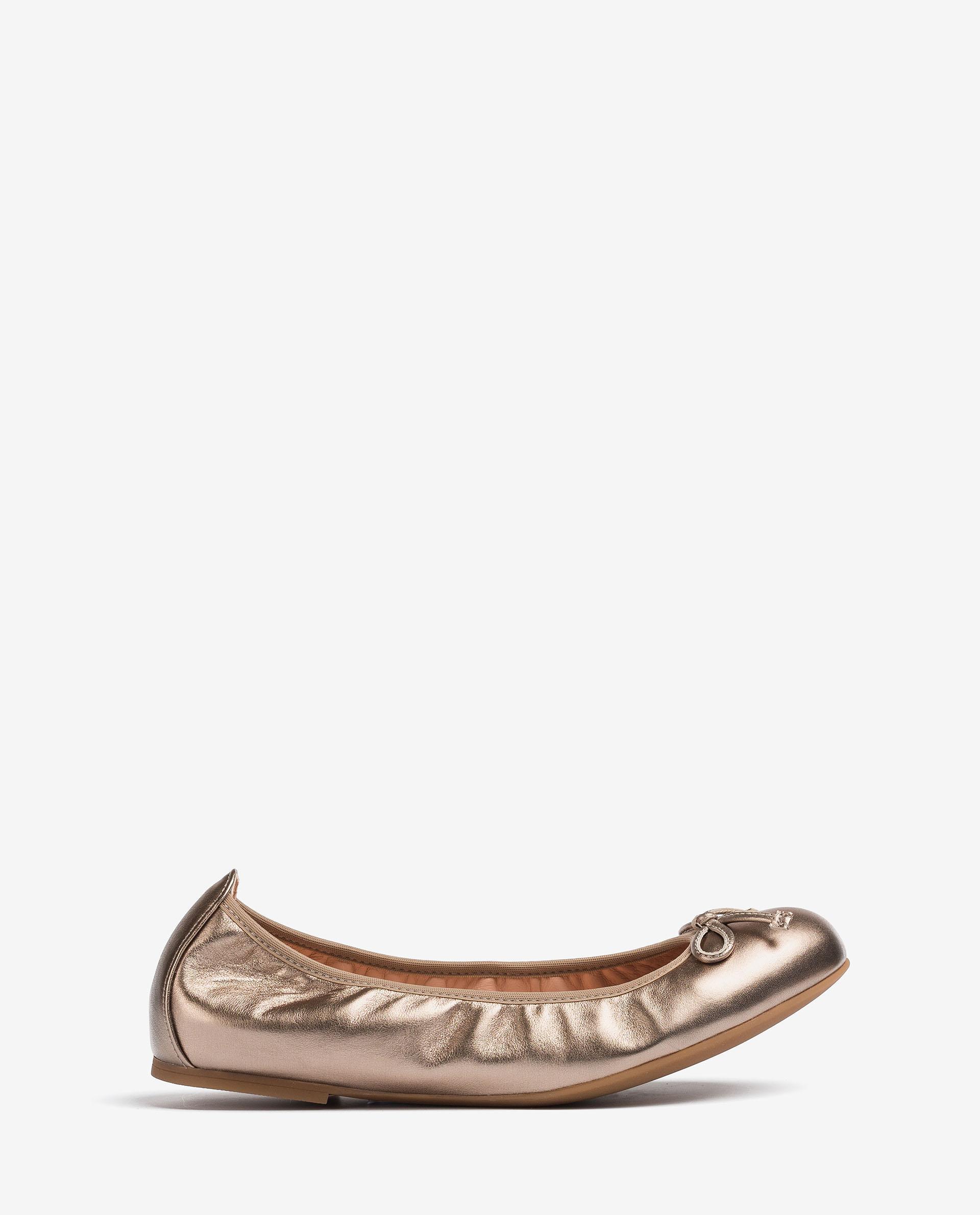 UNISA Leather ballerinas round toe ACOR_21_LMT 2