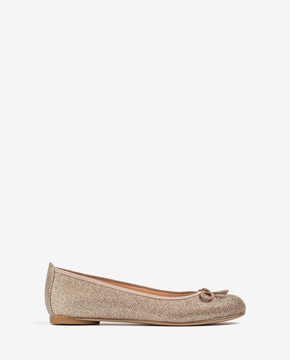 UNISA Metallic copper ballerinas ADRIANA_20_EV_KS mumm/fungh 2