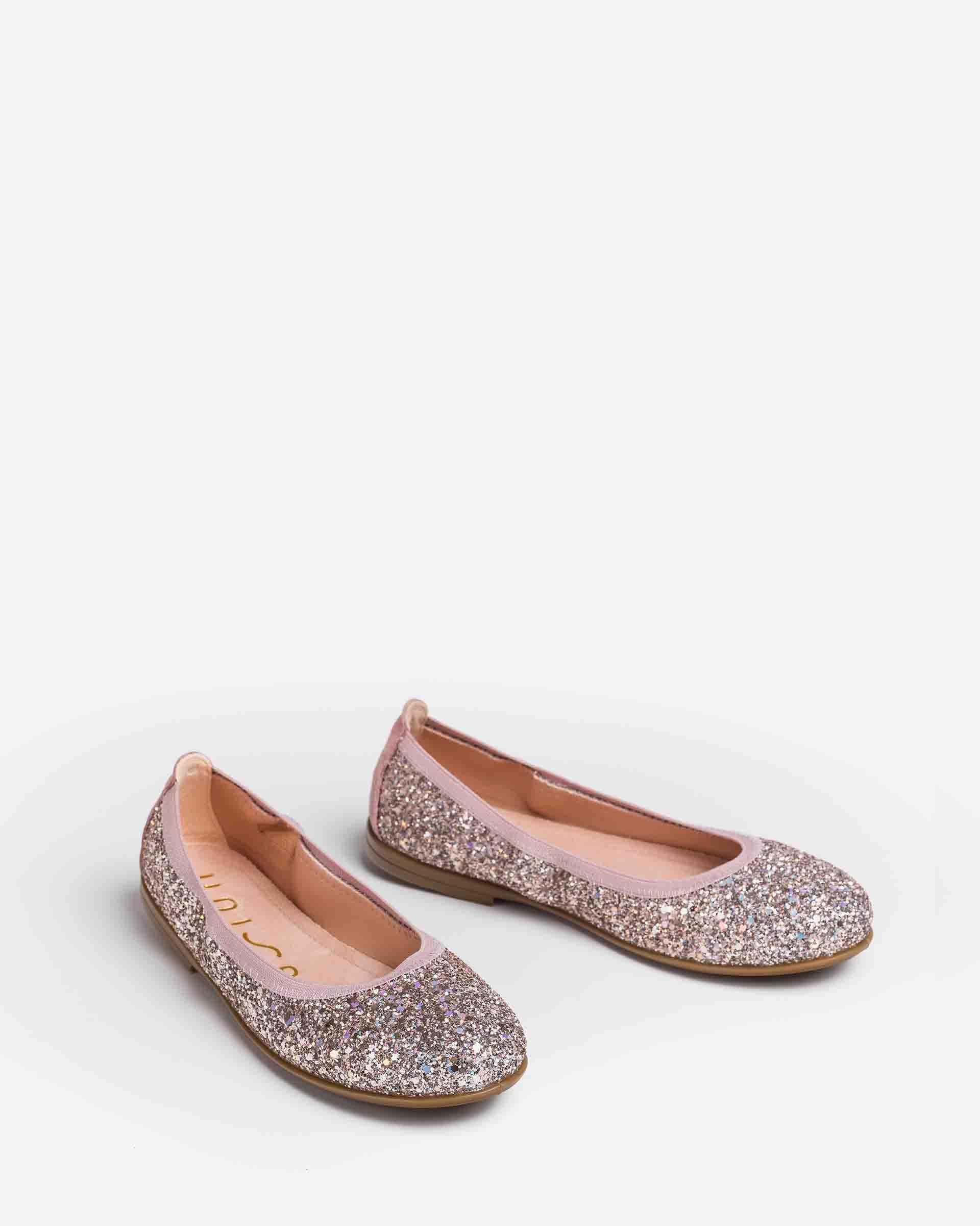 UNISA Glitter ballerinas for little girls SABRINA_21_GL 2