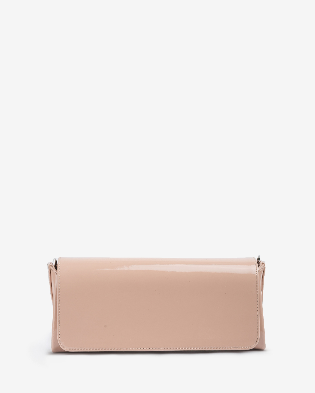 UNISA Mini patent leather shoulder bag ZDREAM_20_PA nude 2