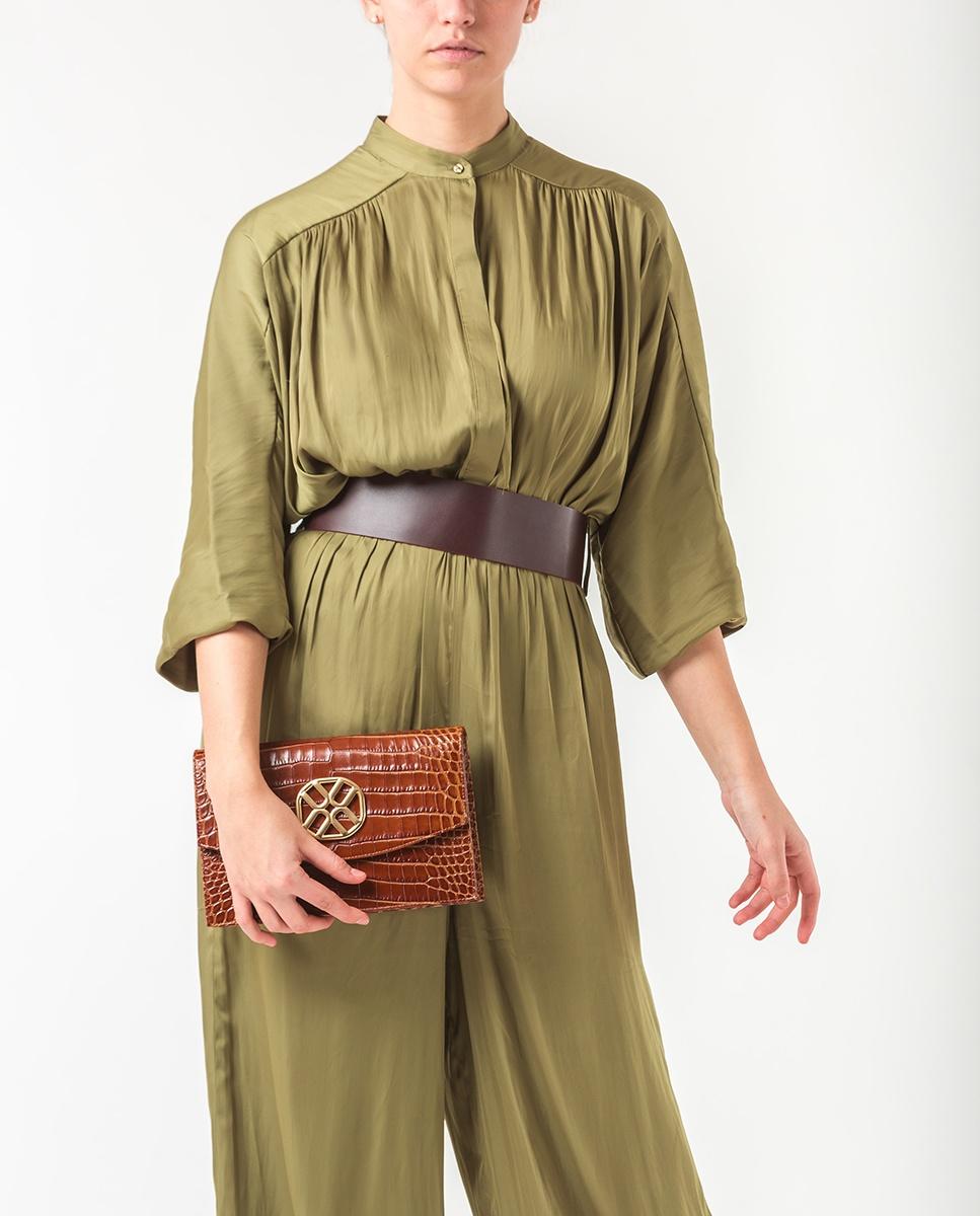 UNISA Monogram handbag ZIGUAL_CRW saddle 2